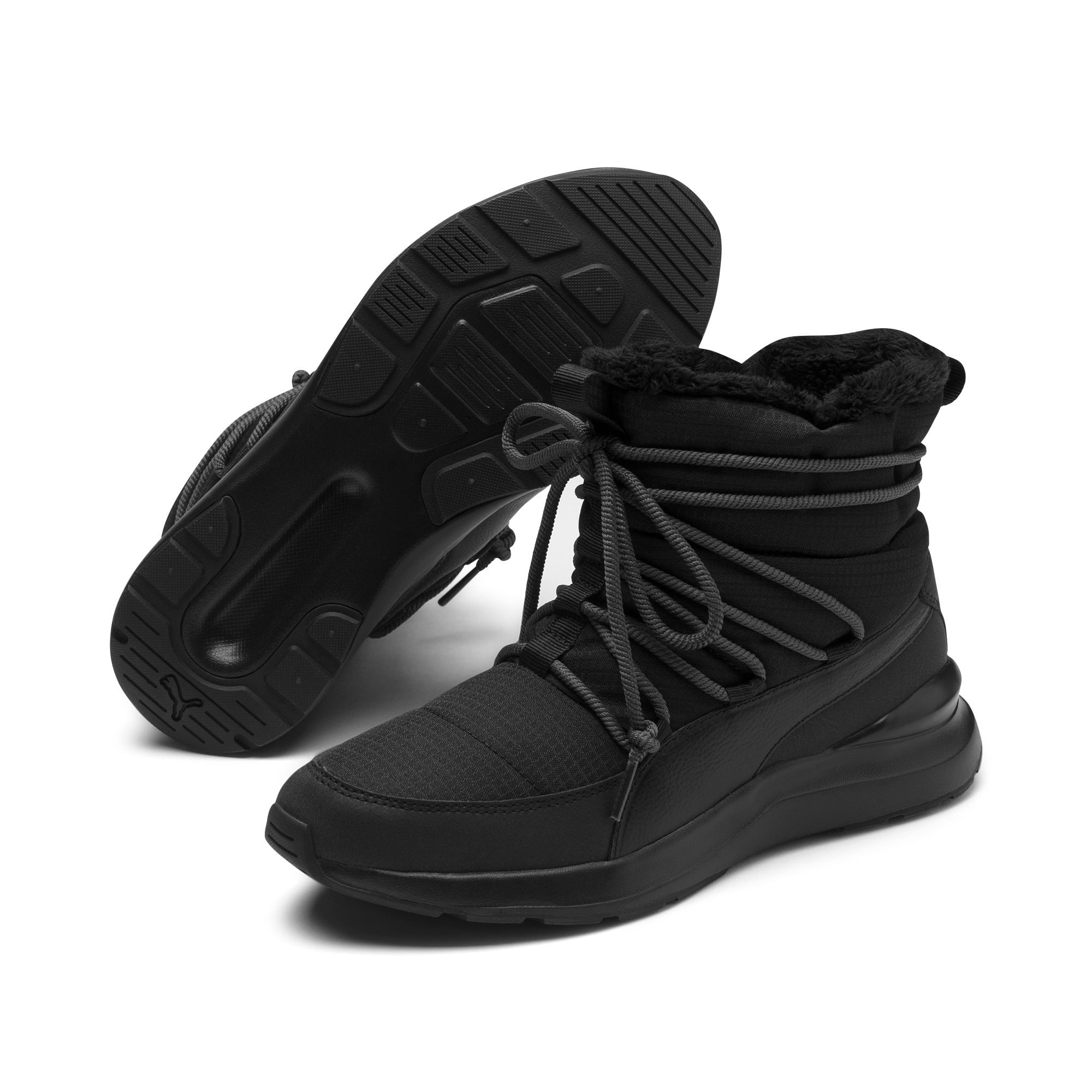Thumbnail 3 van Adela snowboots voor dames, Puma Black-Bridal Rose, medium