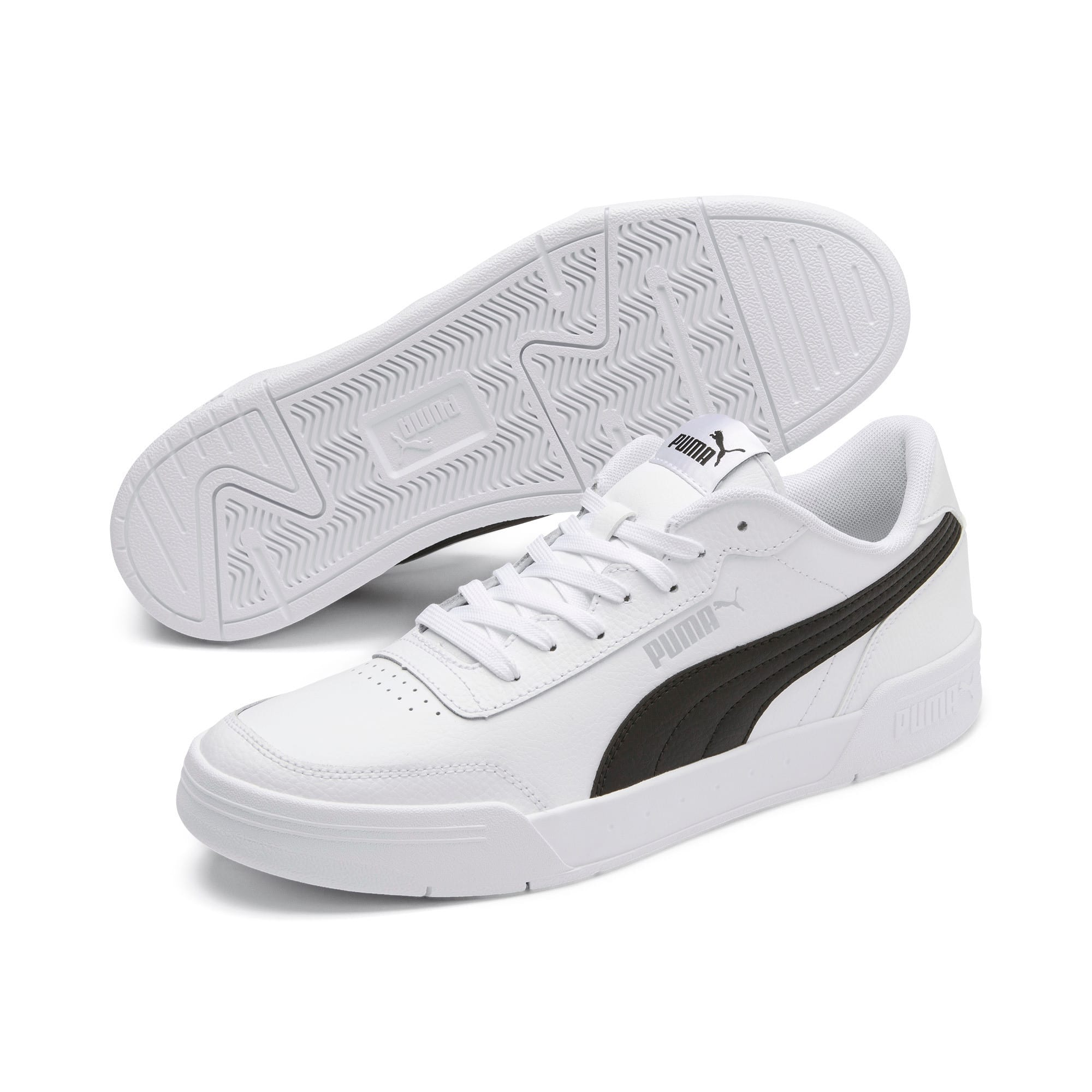 Thumbnail 3 of Caracal Sneakers, Puma White-Puma Black, medium