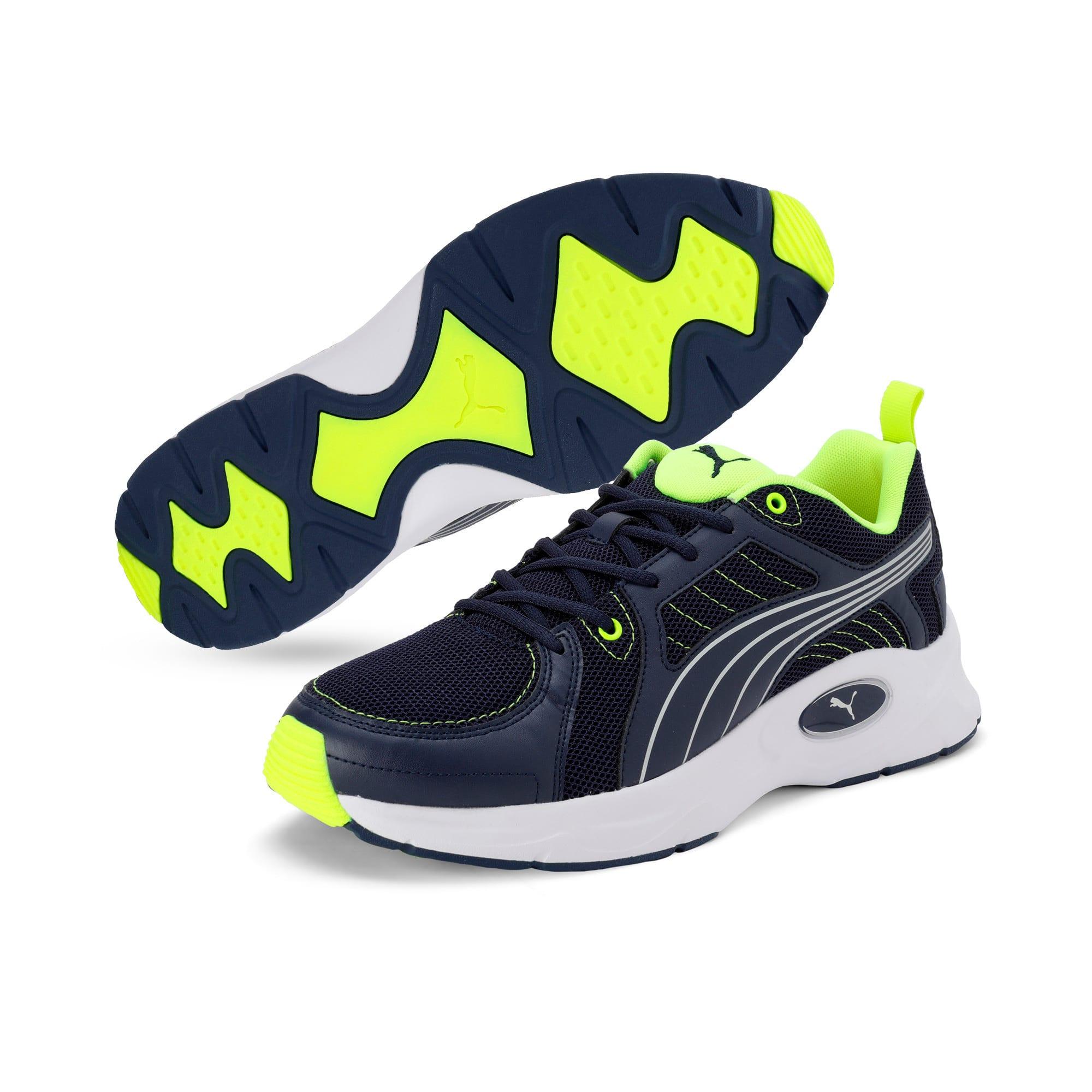 Thumbnail 4 of Nucleus Run Training Shoes, Peacoat-Puma Silver, medium-IND