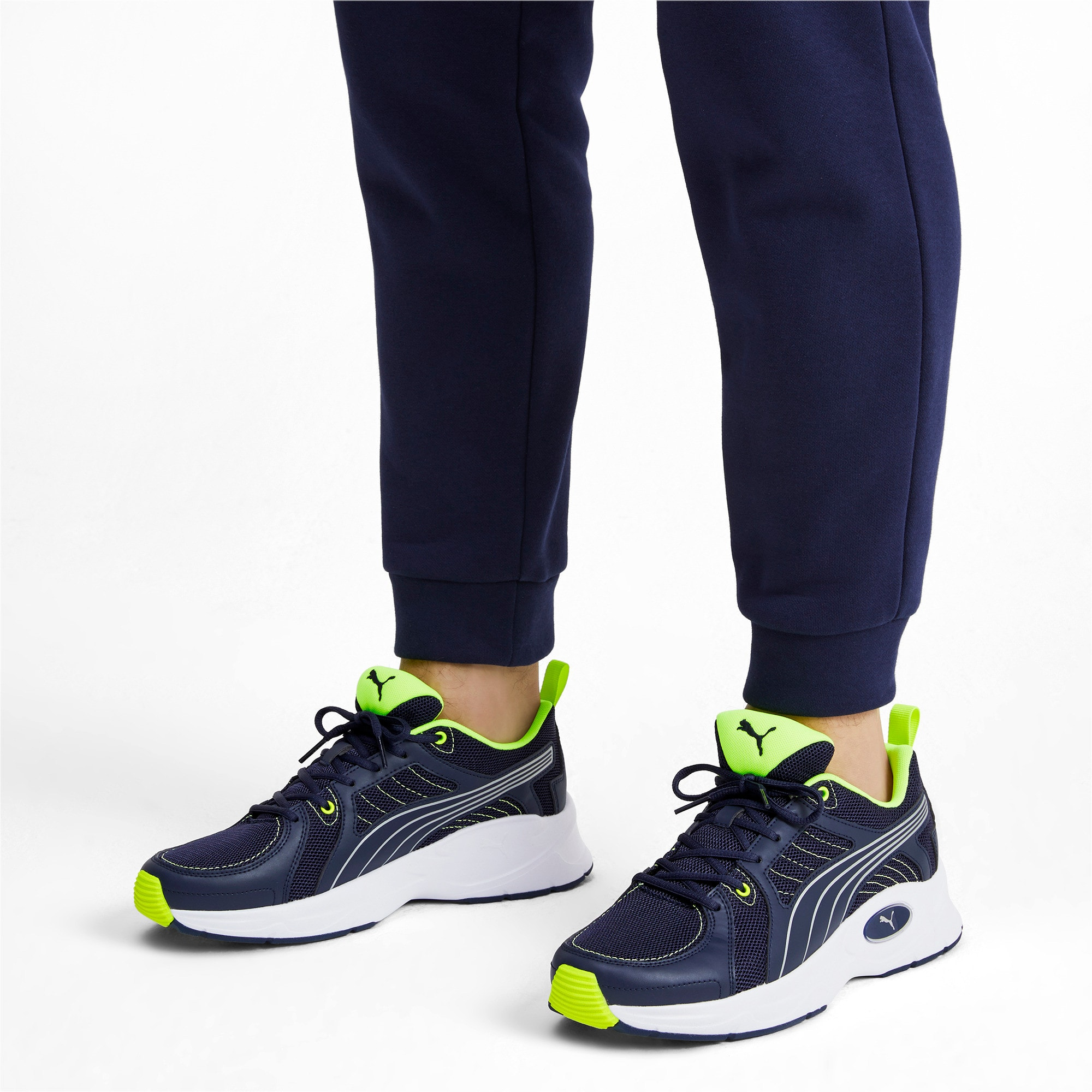 Thumbnail 3 of Nucleus Run Training Shoes, Peacoat-Puma Silver, medium-IND
