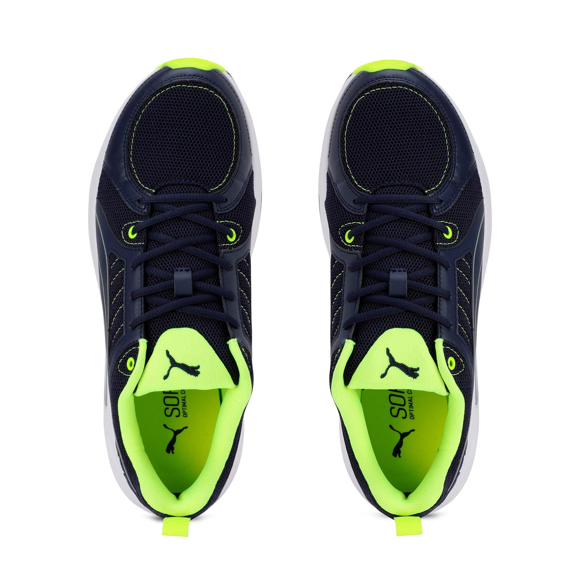 Thumbnail 8 of Nucleus Run Training Shoes, Peacoat-Puma Silver, medium-IND