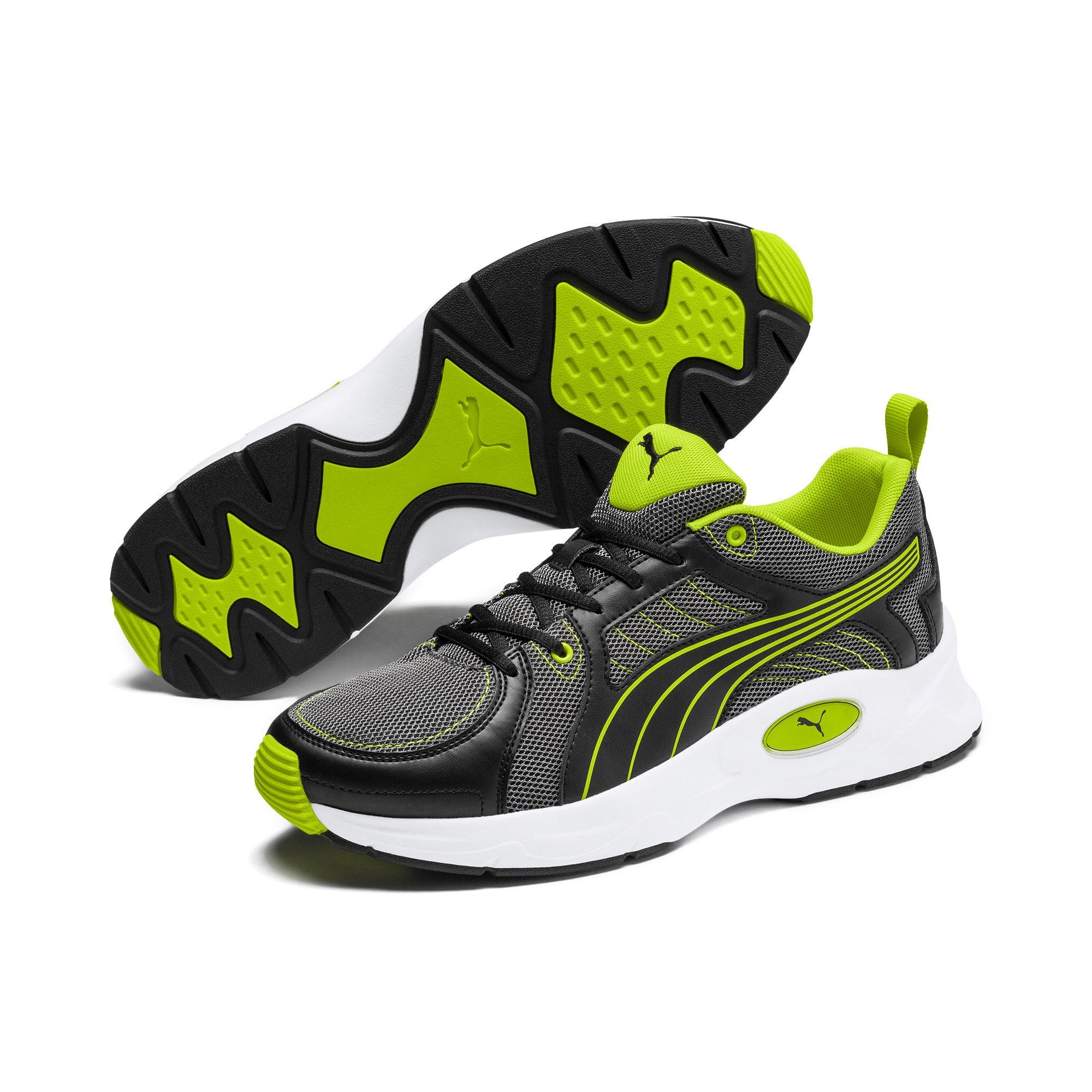 Thumbnail 3 of Nucleus Run Training Shoes, CASTLEROCK-Limepunch, medium