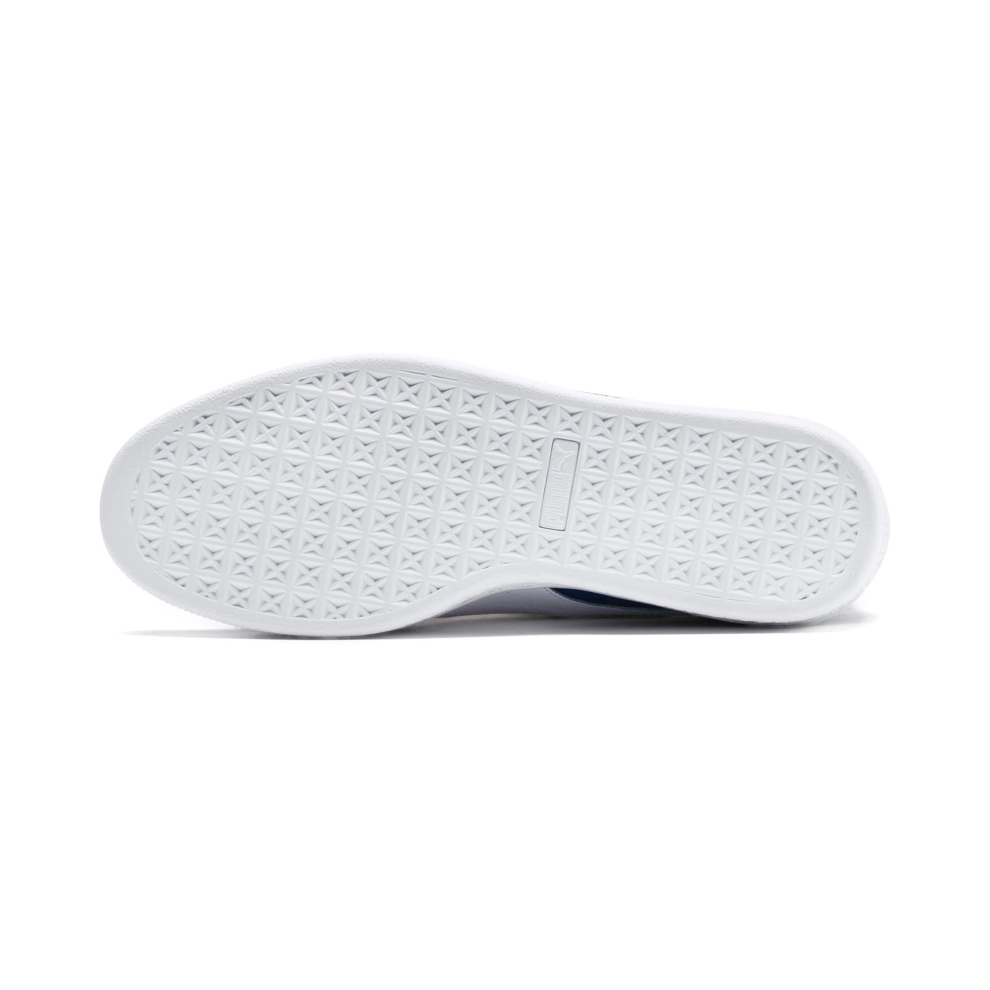 Thumbnail 5 of Suede Classic Block Sneakers, Rhubarb- Blue-White, medium