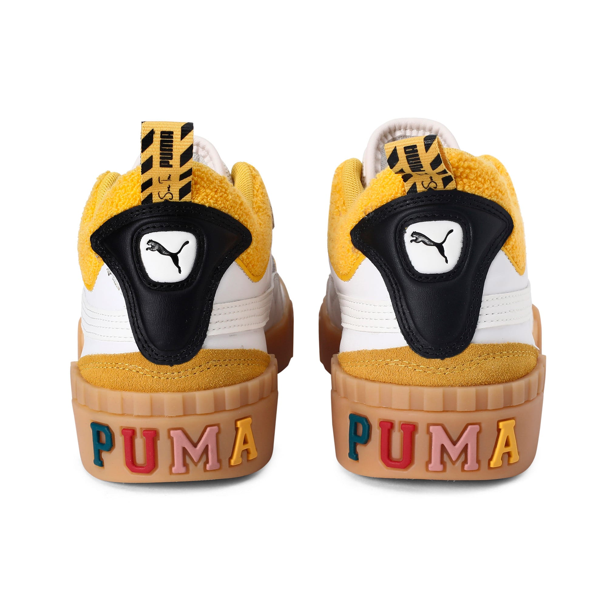 Thumbnail 3 of PUMA x SUE TSAI Cali Women's Trainers, Bright White-Bright White, medium-IND