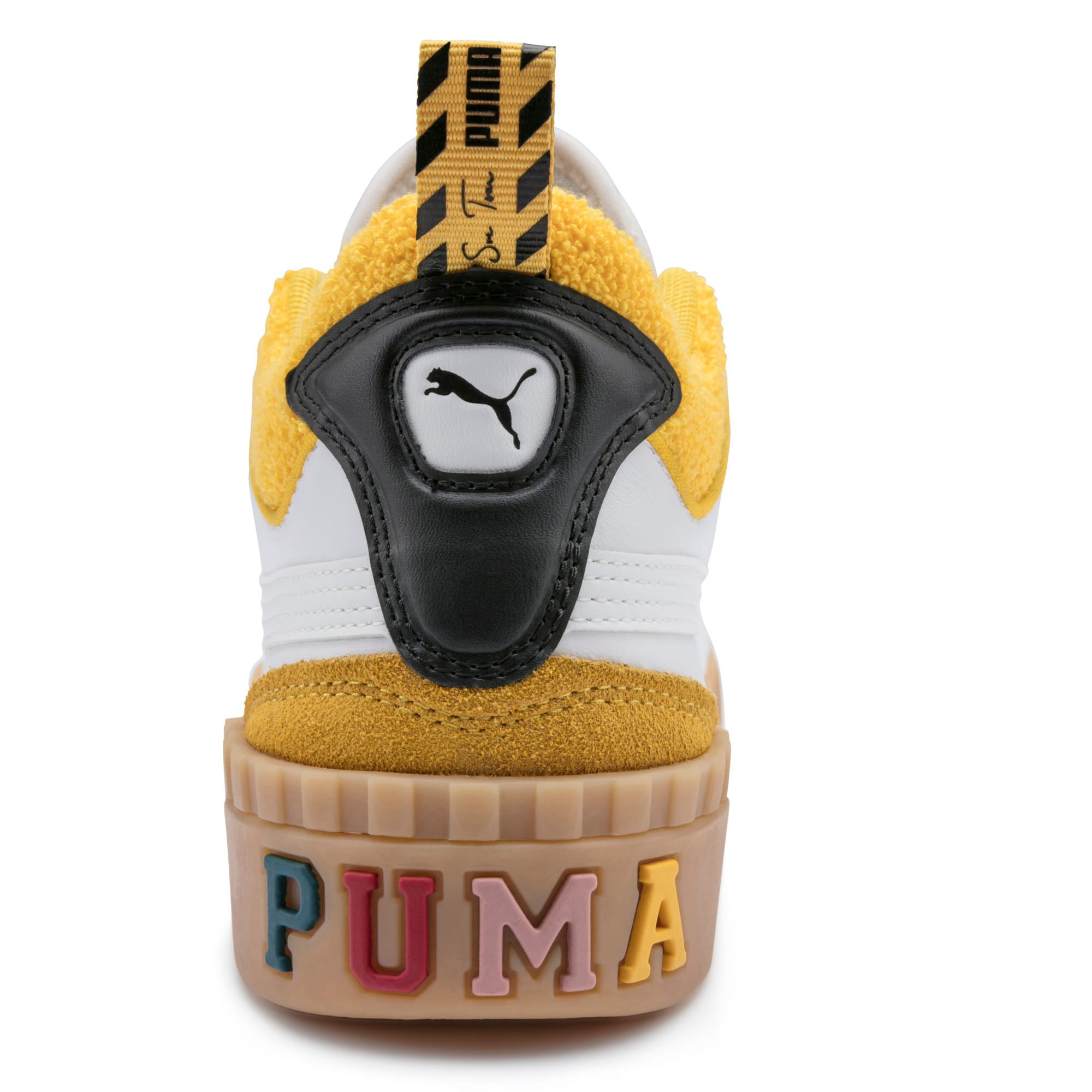 Thumbnail 8 of PUMA x SUE TSAI Cali Women's Trainers, Bright White-Bright White, medium-IND