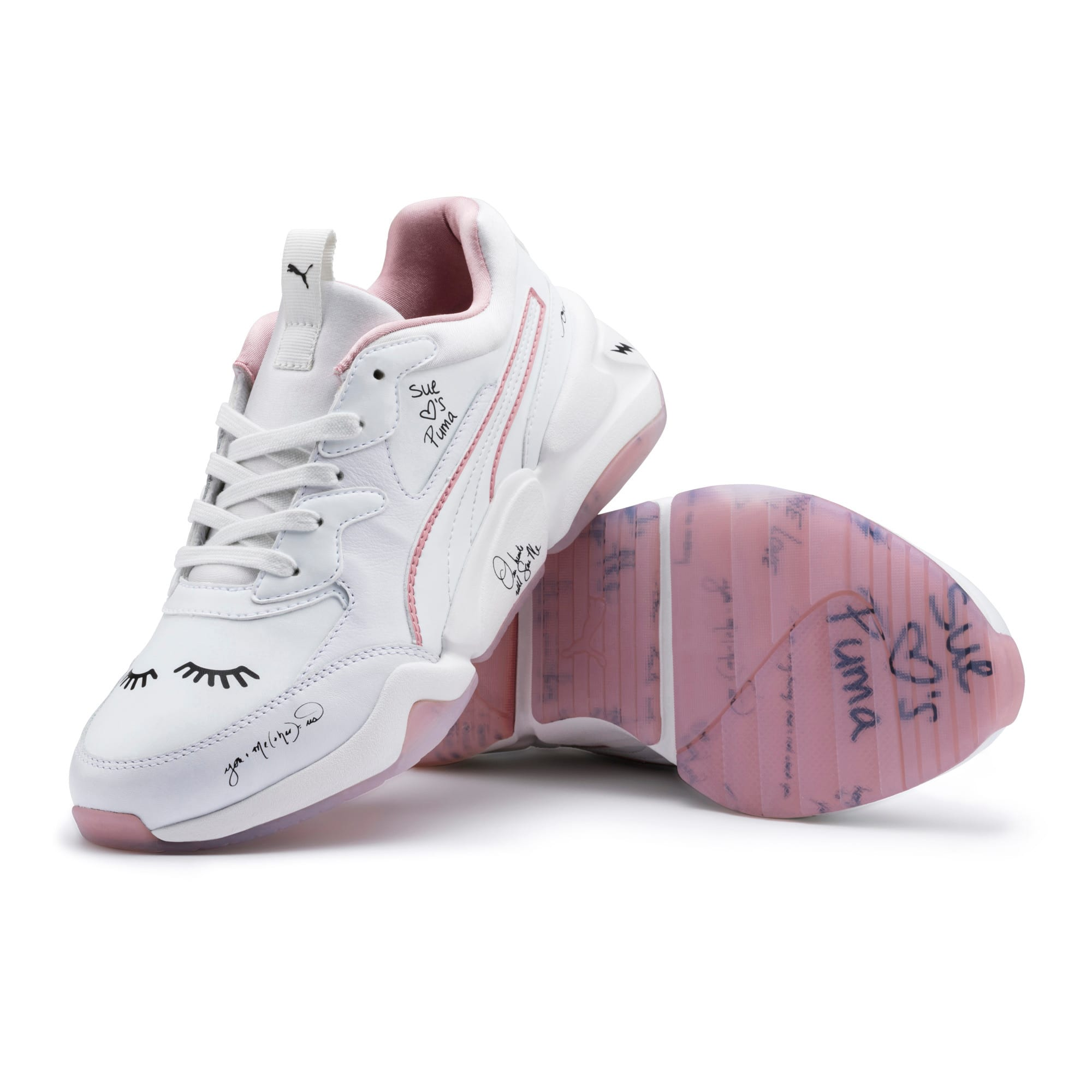 Thumbnail 10 of PUMA x SUE TSAI Nova Women's Trainers, Bright White-Bright White, medium