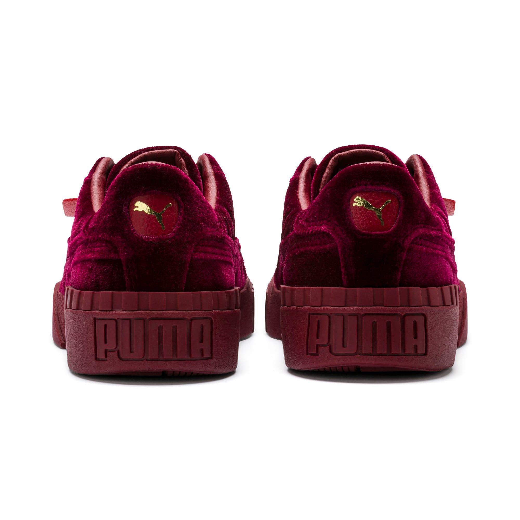 Thumbnail 4 of Cali Velvet Women's Sneakers, Tibetan Red-Tibetan Red, medium