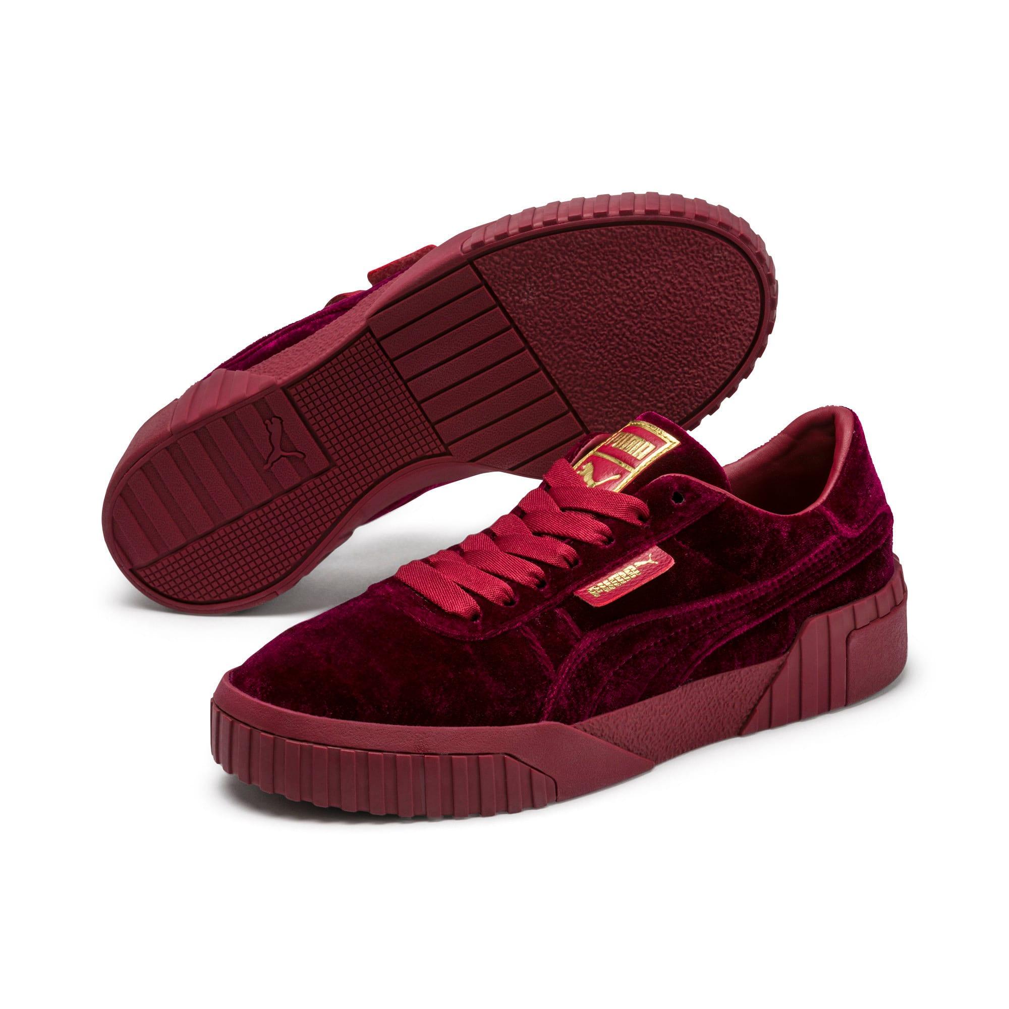 Thumbnail 2 of Cali Velvet Women's Sneakers, Tibetan Red-Tibetan Red, medium