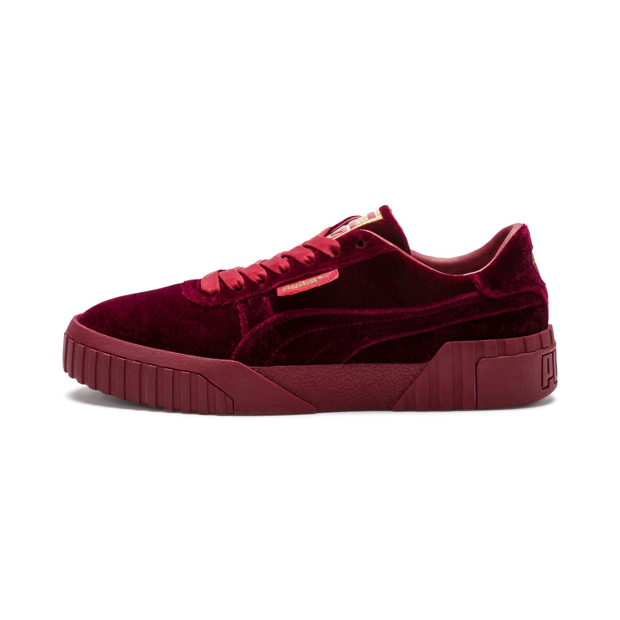 Thumbnail 1 of Cali Velvet Women's Sneakers, Tibetan Red-Tibetan Red, medium