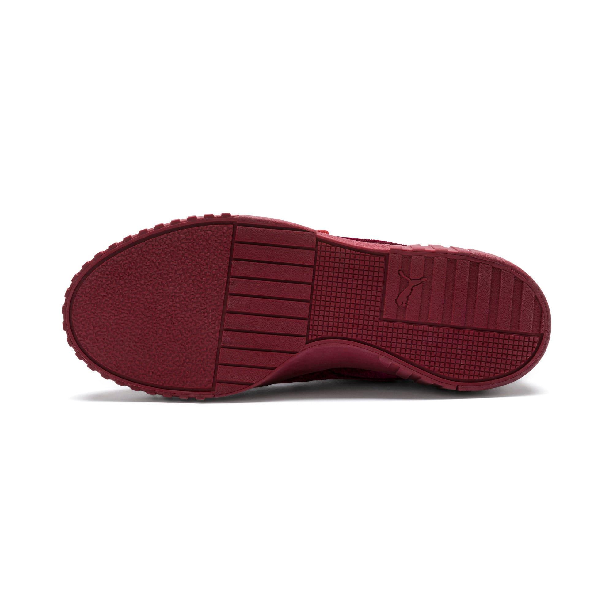 Thumbnail 3 of Cali Velvet Women's Sneakers, Tibetan Red-Tibetan Red, medium