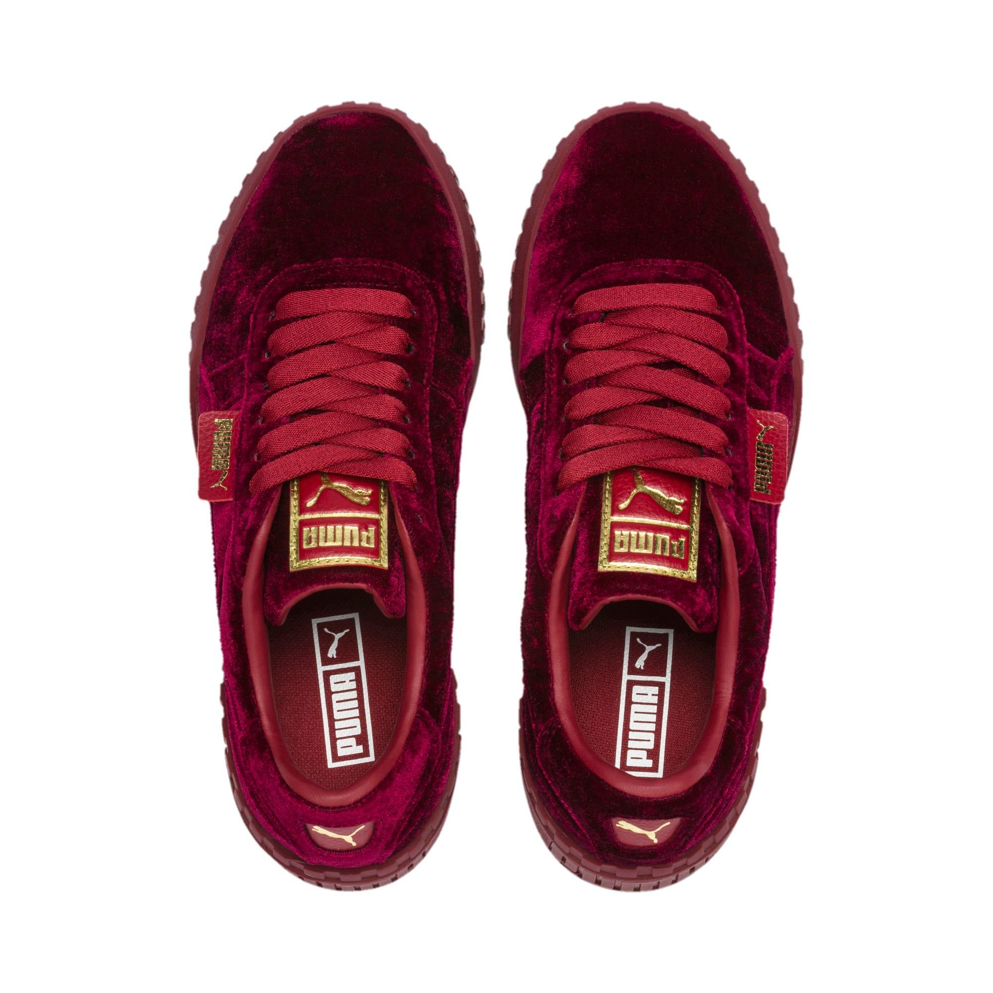 Thumbnail 6 of Cali Velvet Women's Sneakers, Tibetan Red-Tibetan Red, medium