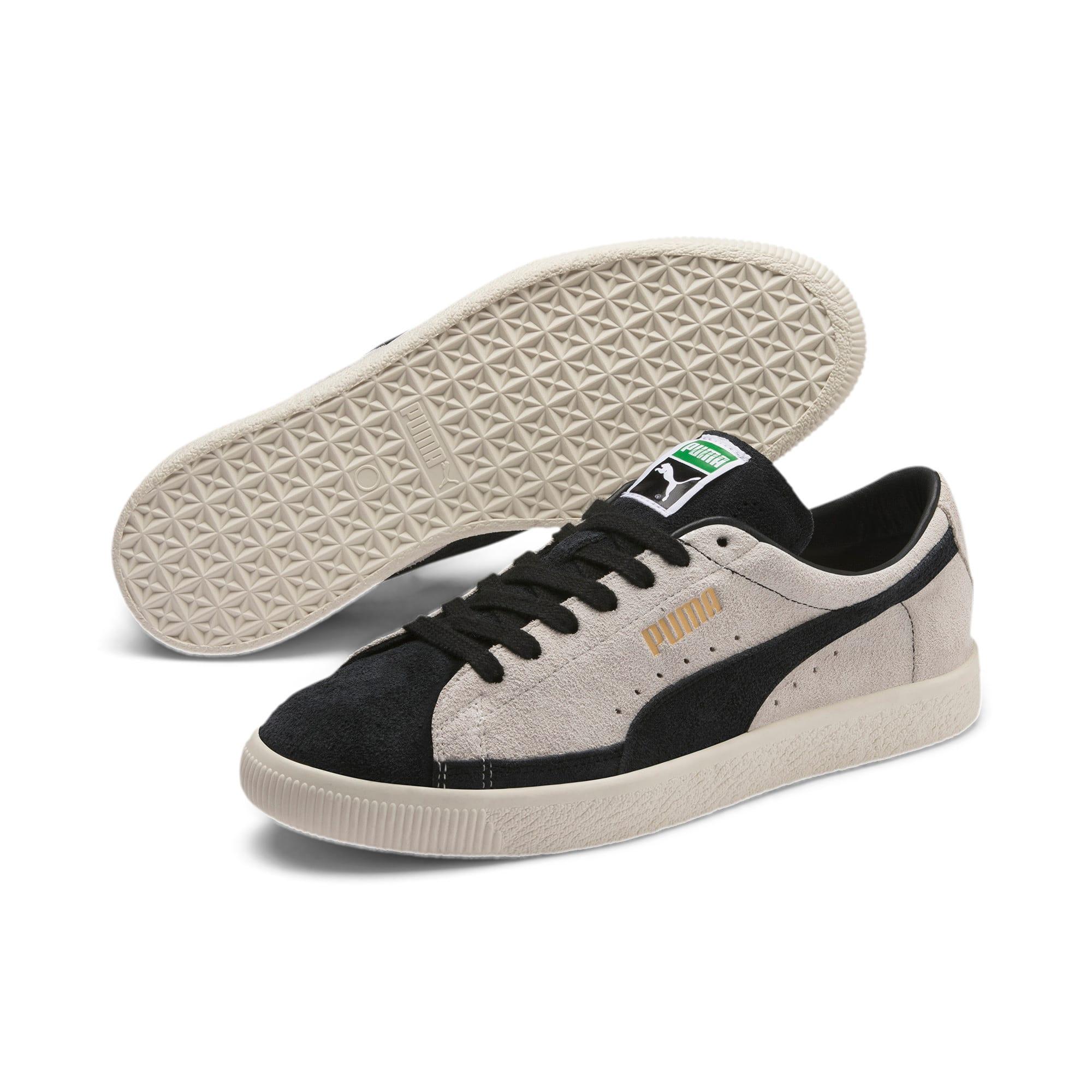 Thumbnail 2 of Suede 90681 Vintage Sneakers, Whisper White-Puma Black, medium
