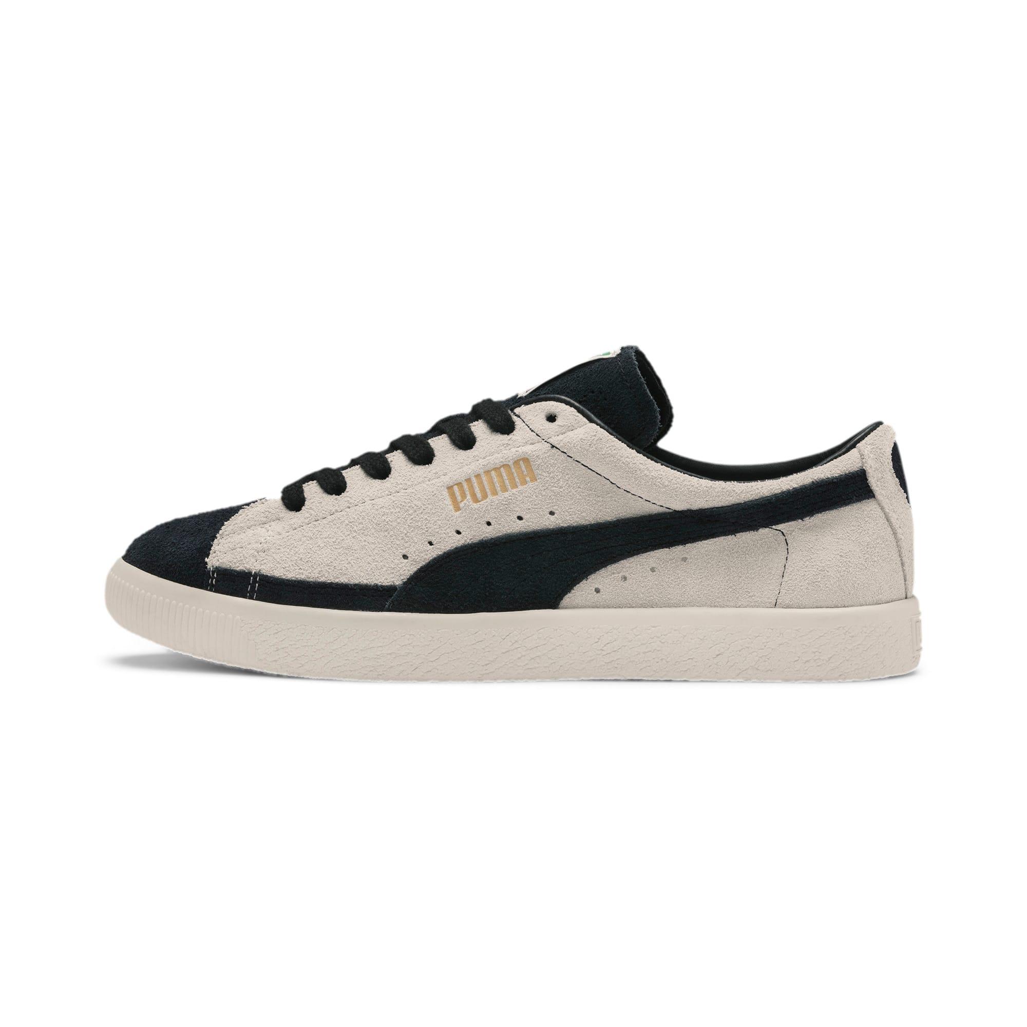 Thumbnail 1 of Suede 90681 Vintage Sneakers, Whisper White-Puma Black, medium