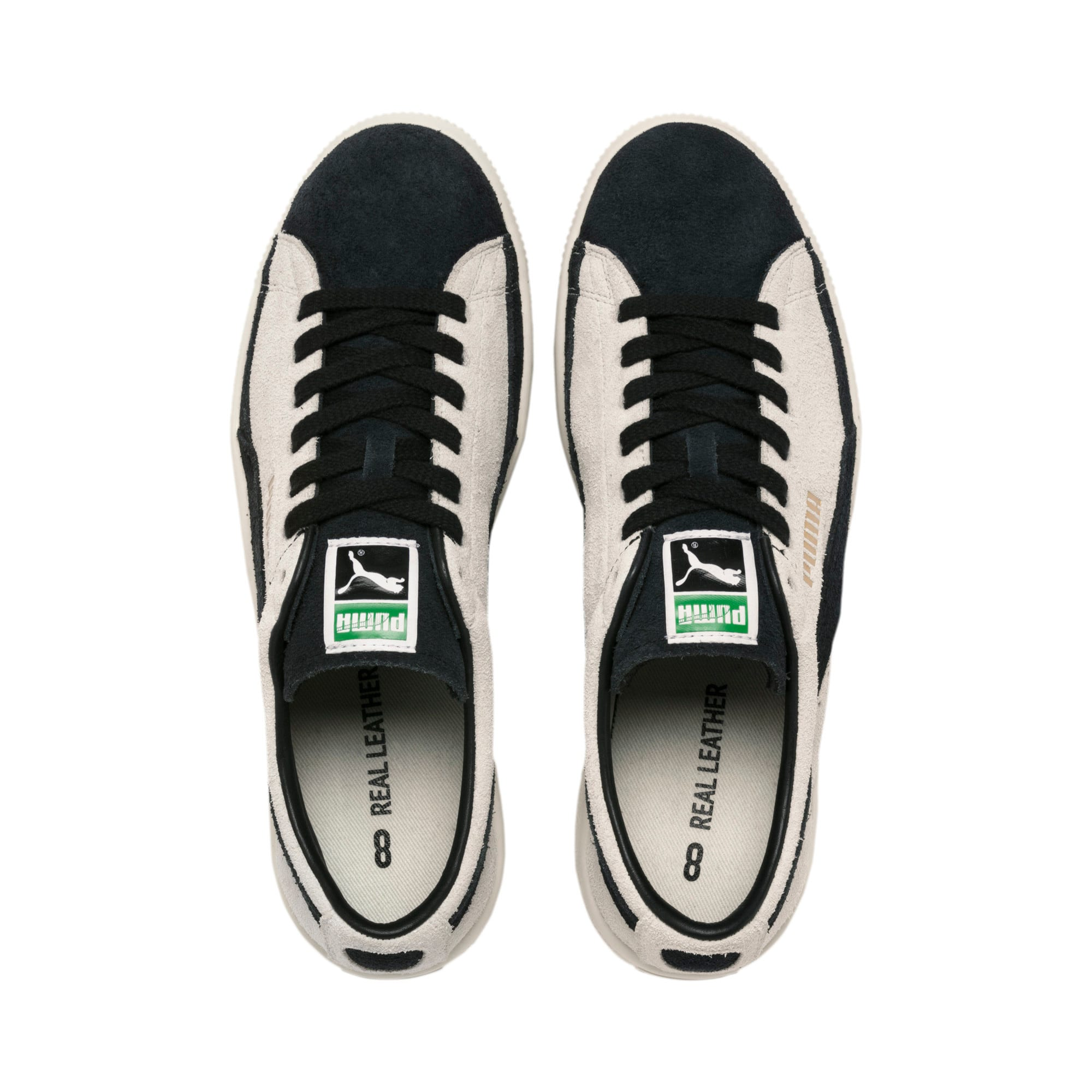 Thumbnail 7 of Suede 90681 Vintage Sneakers, Whisper White-Puma Black, medium