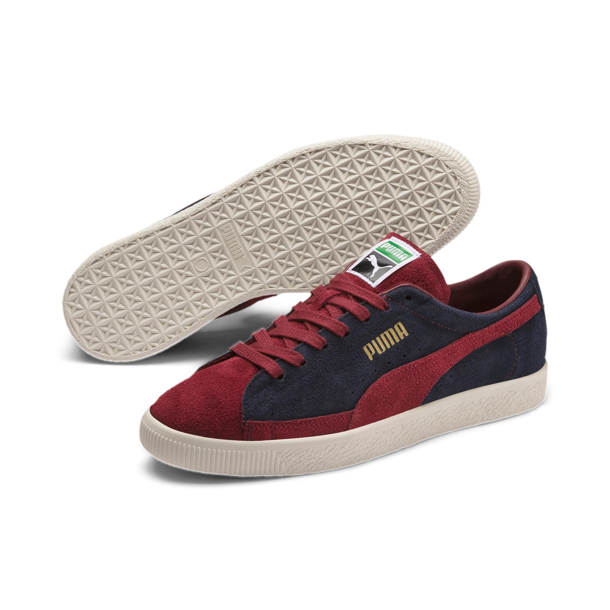 Thumbnail 2 of Suede 90681 Vintage Sneakers, Peacoat-Rhubarb, medium