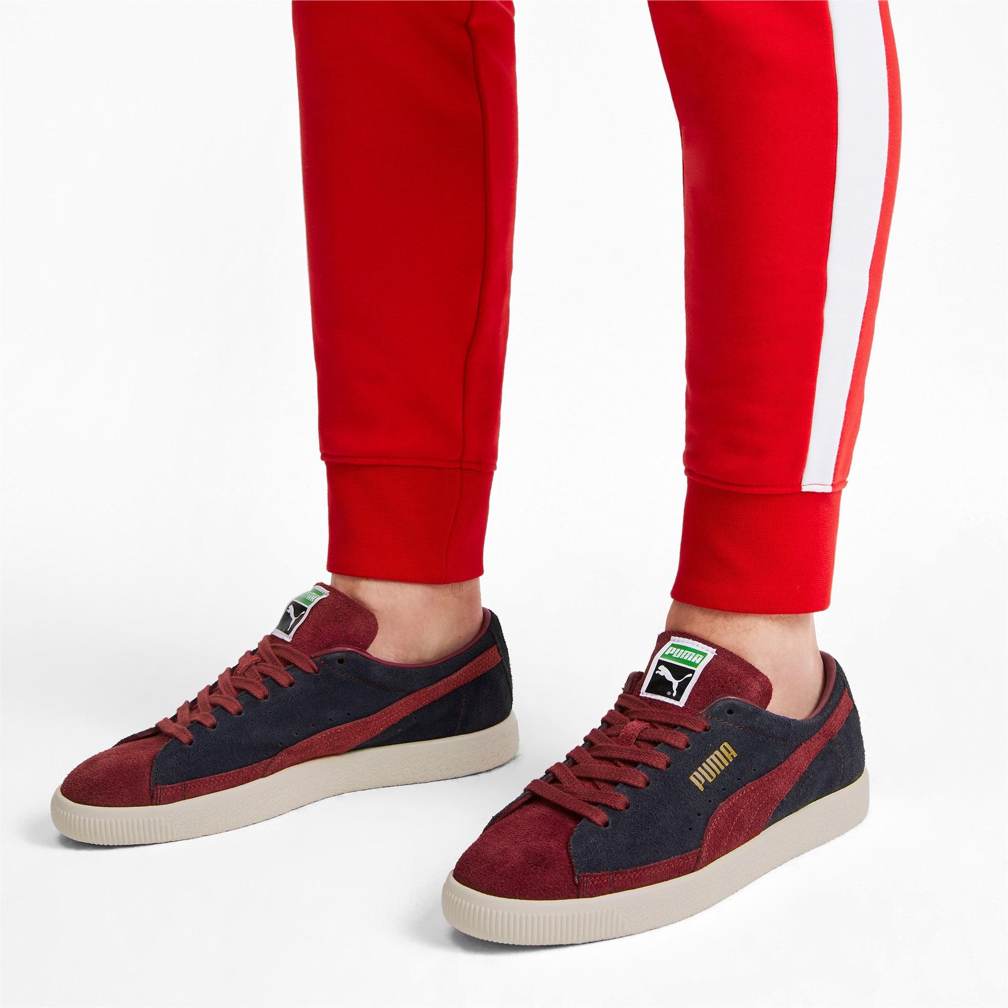 Thumbnail 3 of Suede 90681 Vintage Sneakers, Peacoat-Rhubarb, medium