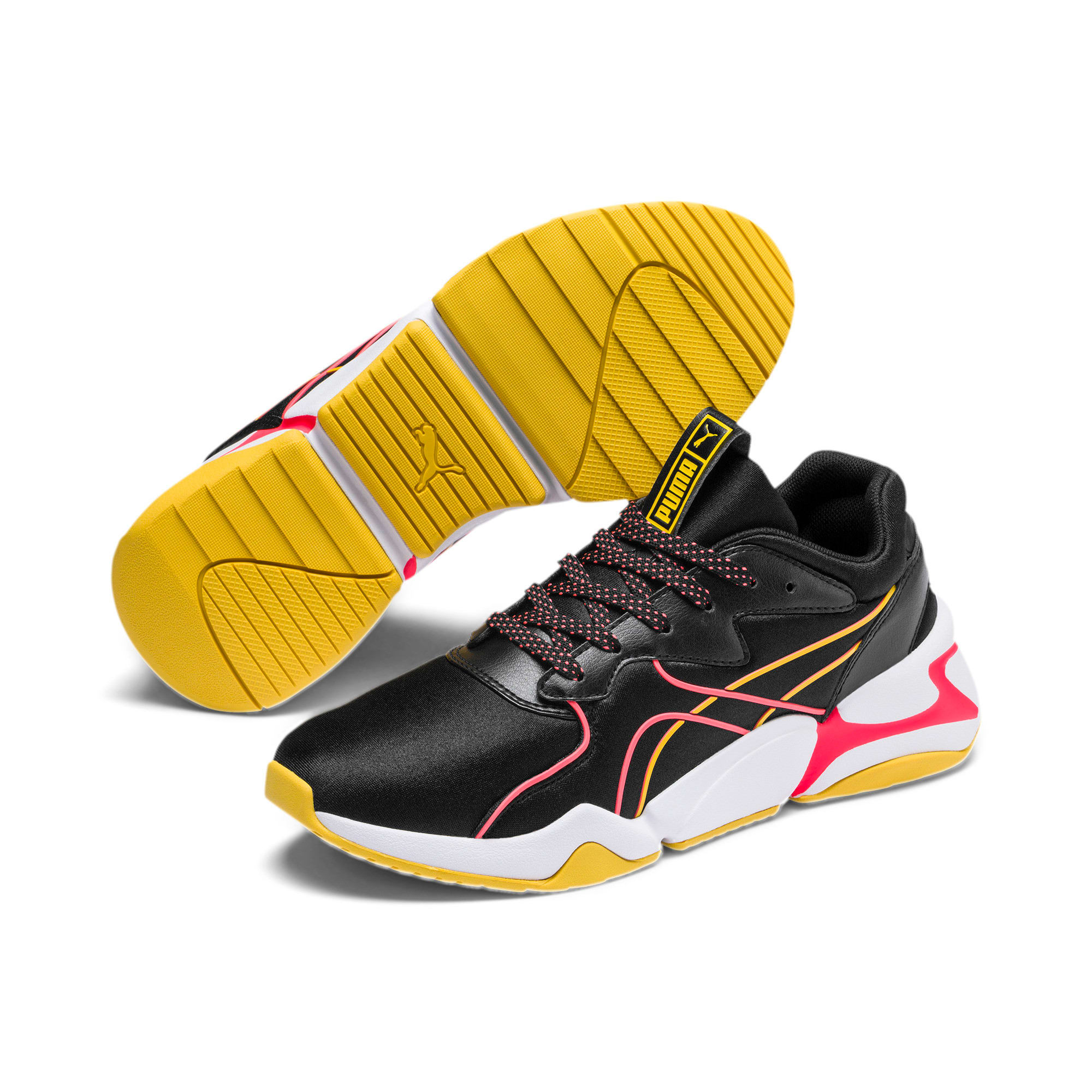 Thumbnail 3 of Nova Hypertech IMEVA sportschoenen voor dames, Puma Black, medium