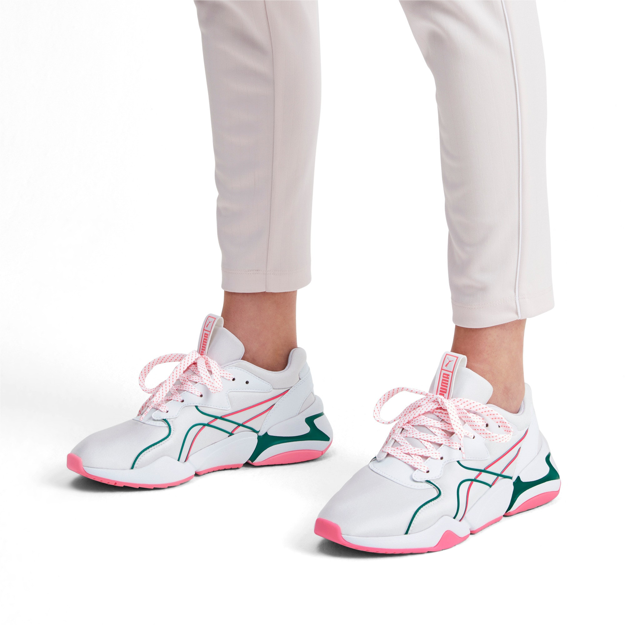 Thumbnail 2 van Nova Hypertech IMEVA - Sportschoenen voor vrouwen, Puma White, medium