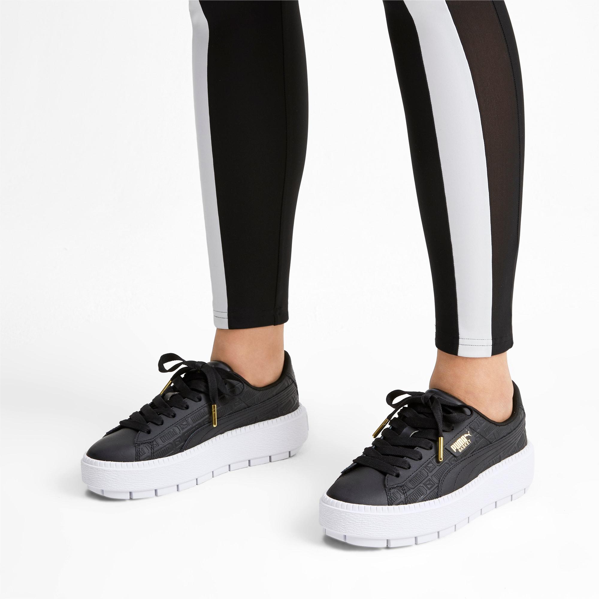 Nowoczesne damskie obuwie sportowe Platform Trace