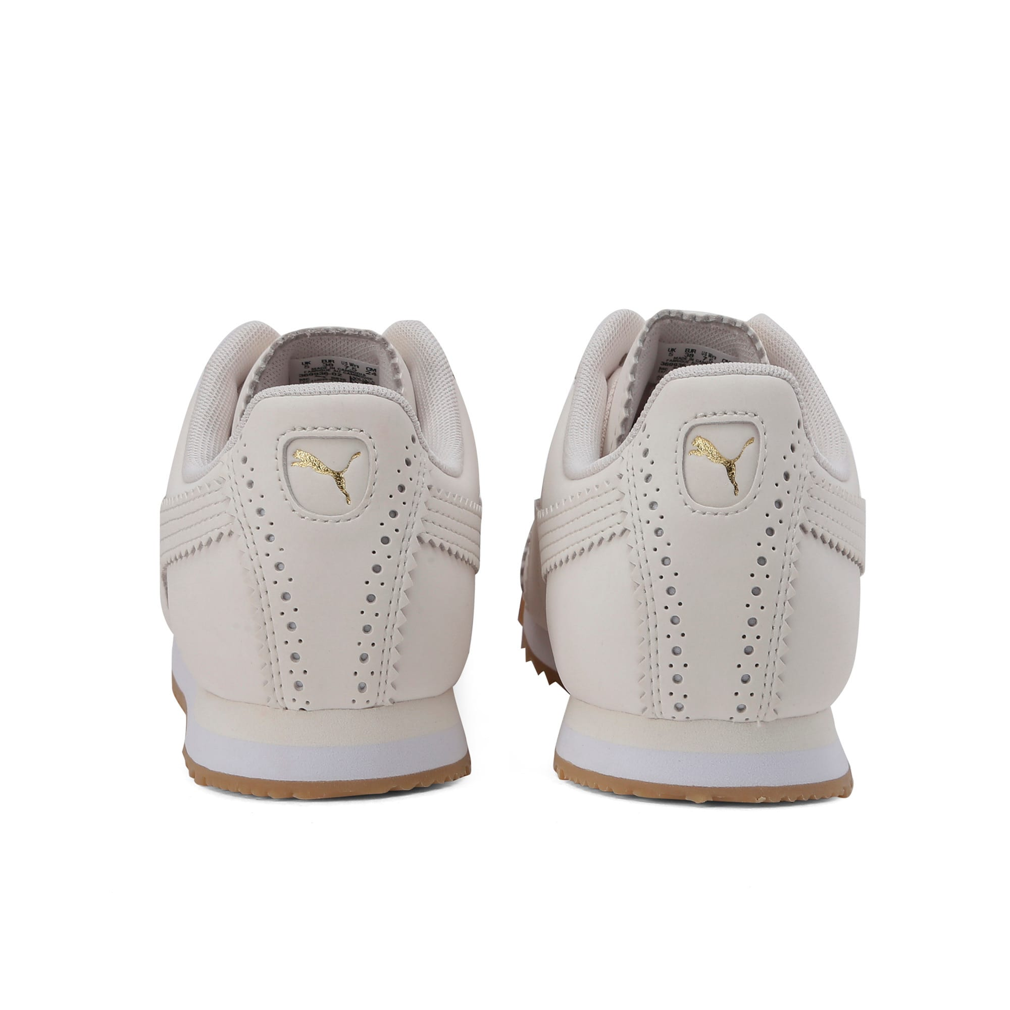 Thumbnail 5 of Roma Brogue Women's Trainers, Pastel Parchment-P.Team Gold, medium-IND