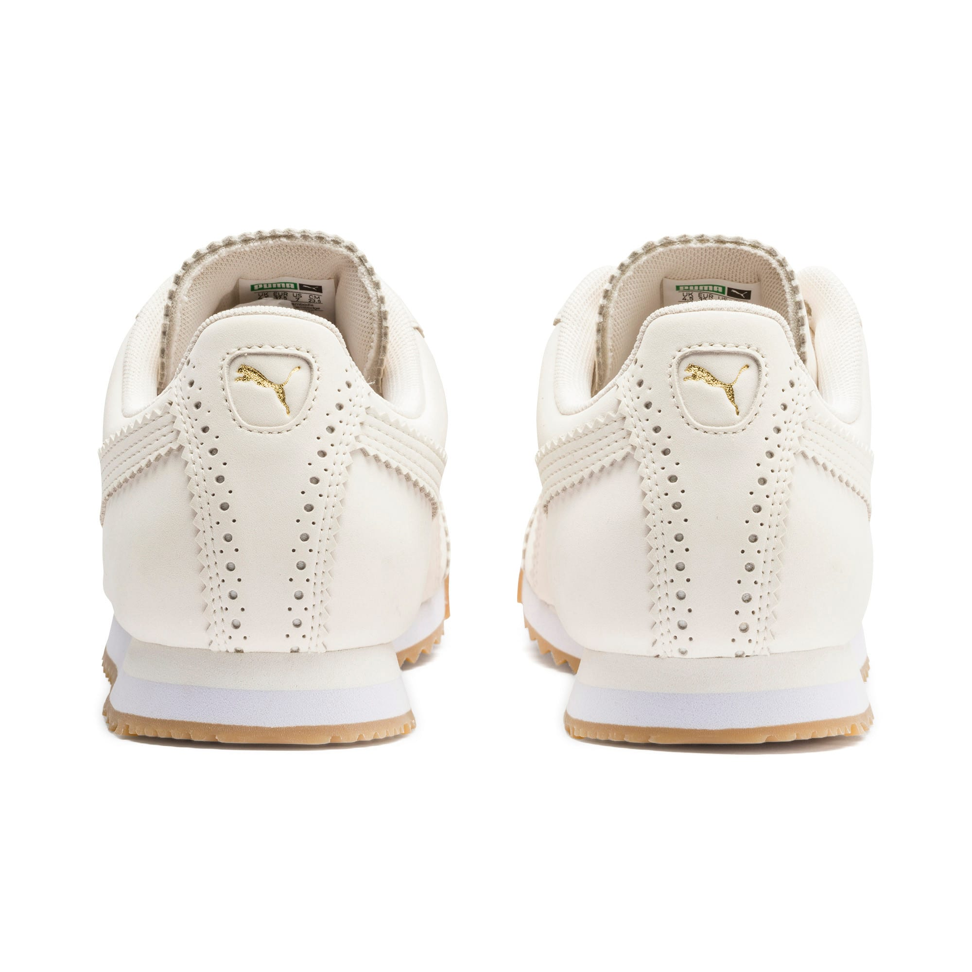 Thumbnail 5 of Roma Brogue Women's Sneakers, Pastel Parchment-P.Team Gold, medium