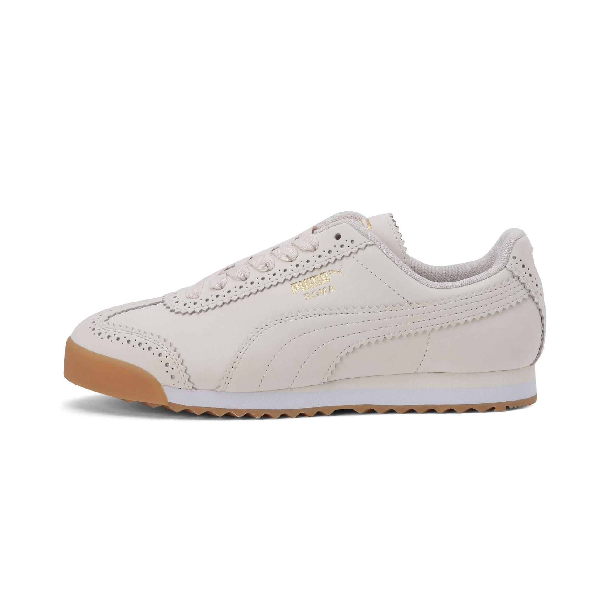 Thumbnail 1 of Roma Brogue Women's Trainers, Pastel Parchment-P.Team Gold, medium-IND