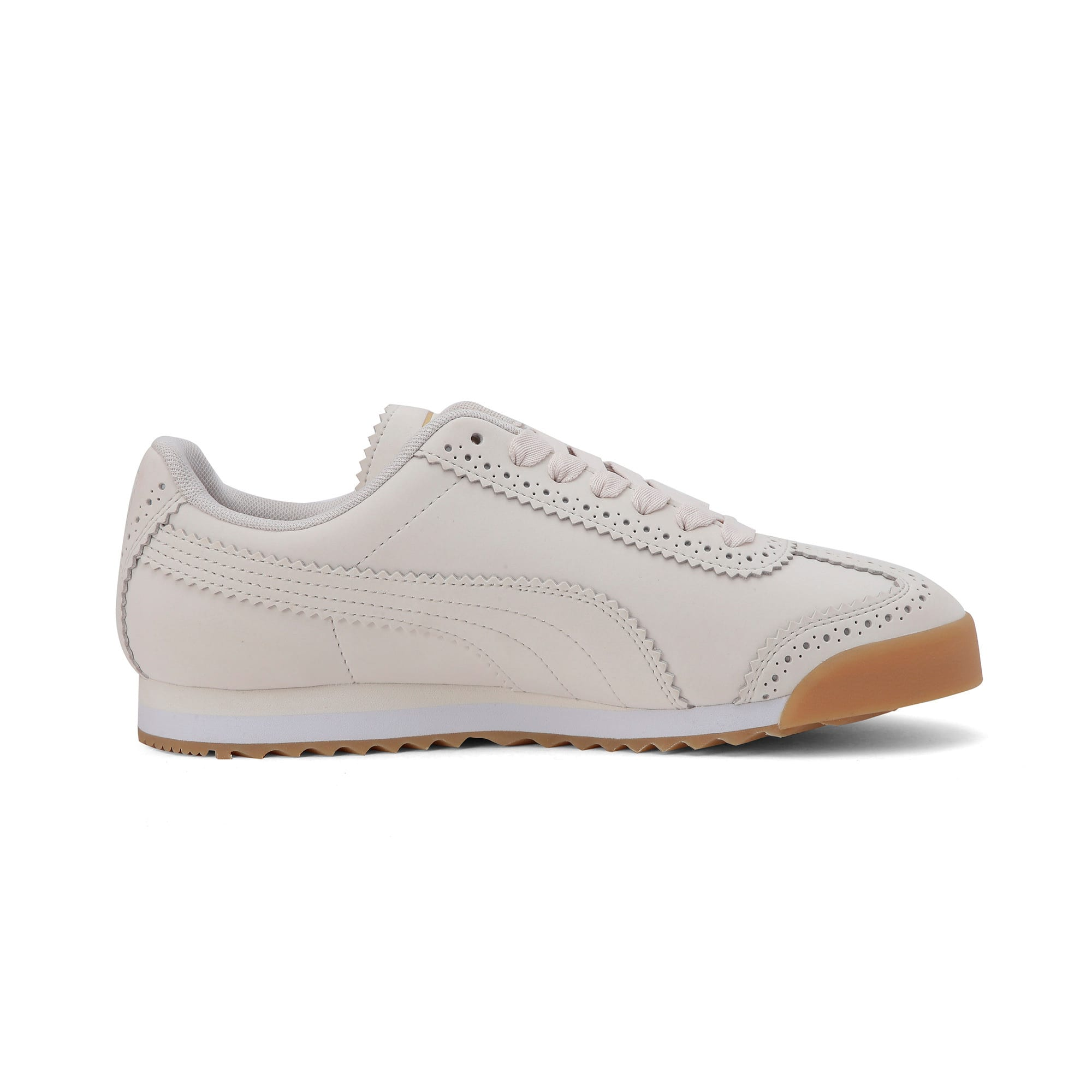 Thumbnail 6 of Roma Brogue Women's Trainers, Pastel Parchment-P.Team Gold, medium-IND