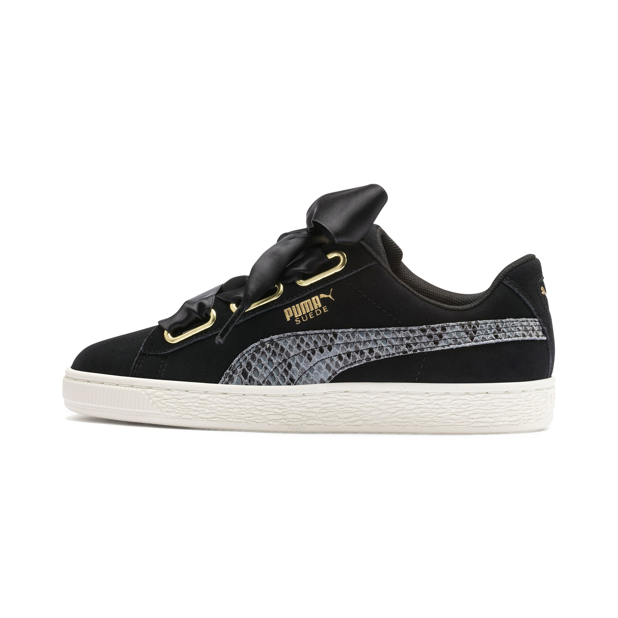 Suede Heart Snake Lux Women's Shoes