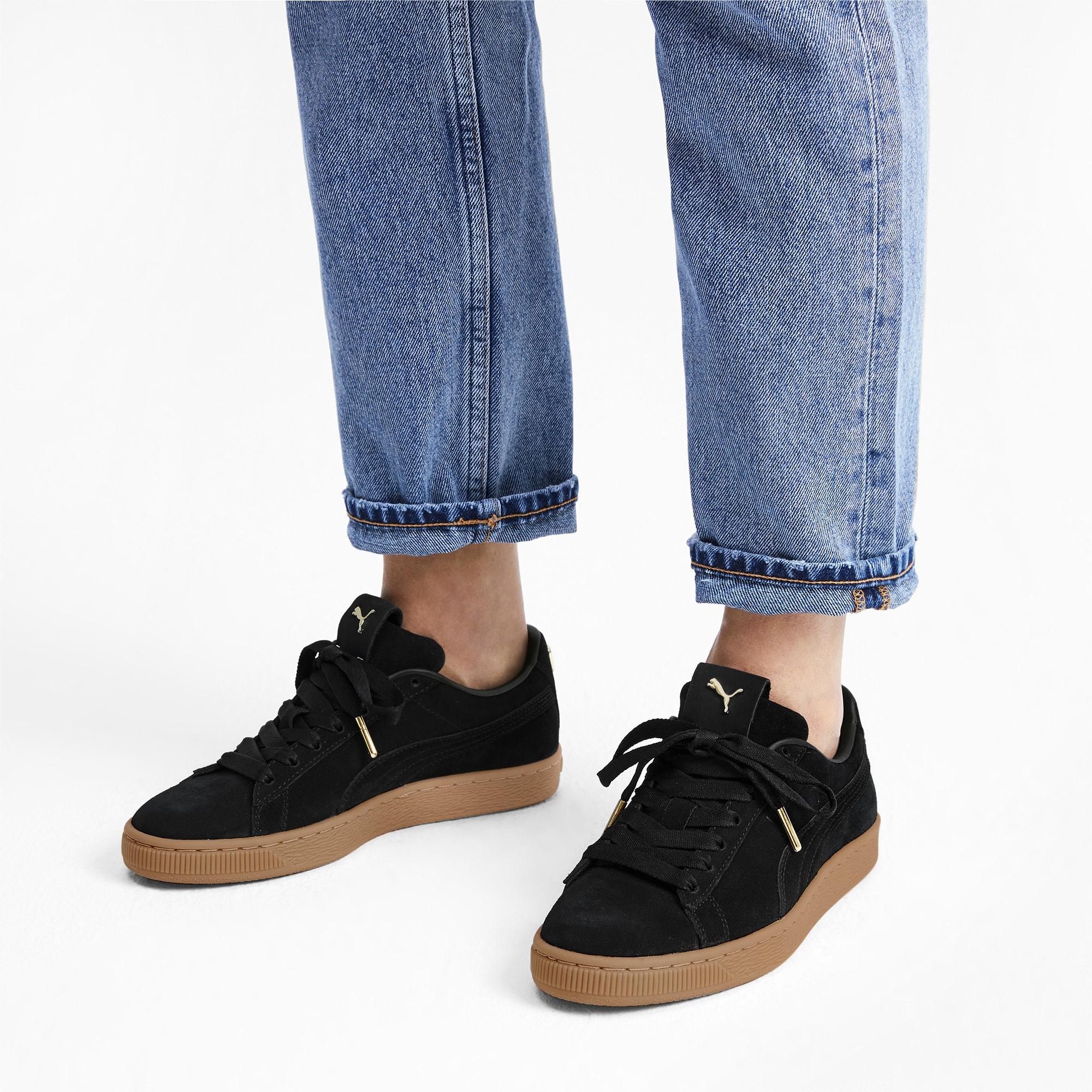 Suede Premium Logo Women's Sneakers