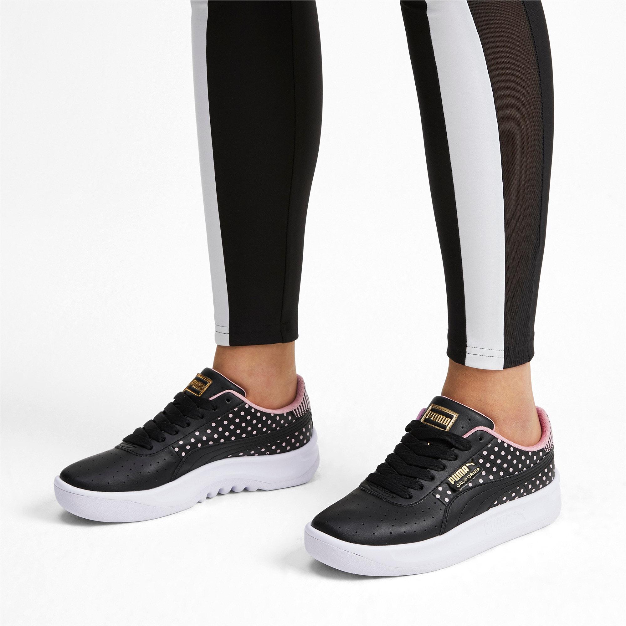 Thumbnail 3 of California Remix Women's Sneakers, Puma Black-Bridal Rose, medium