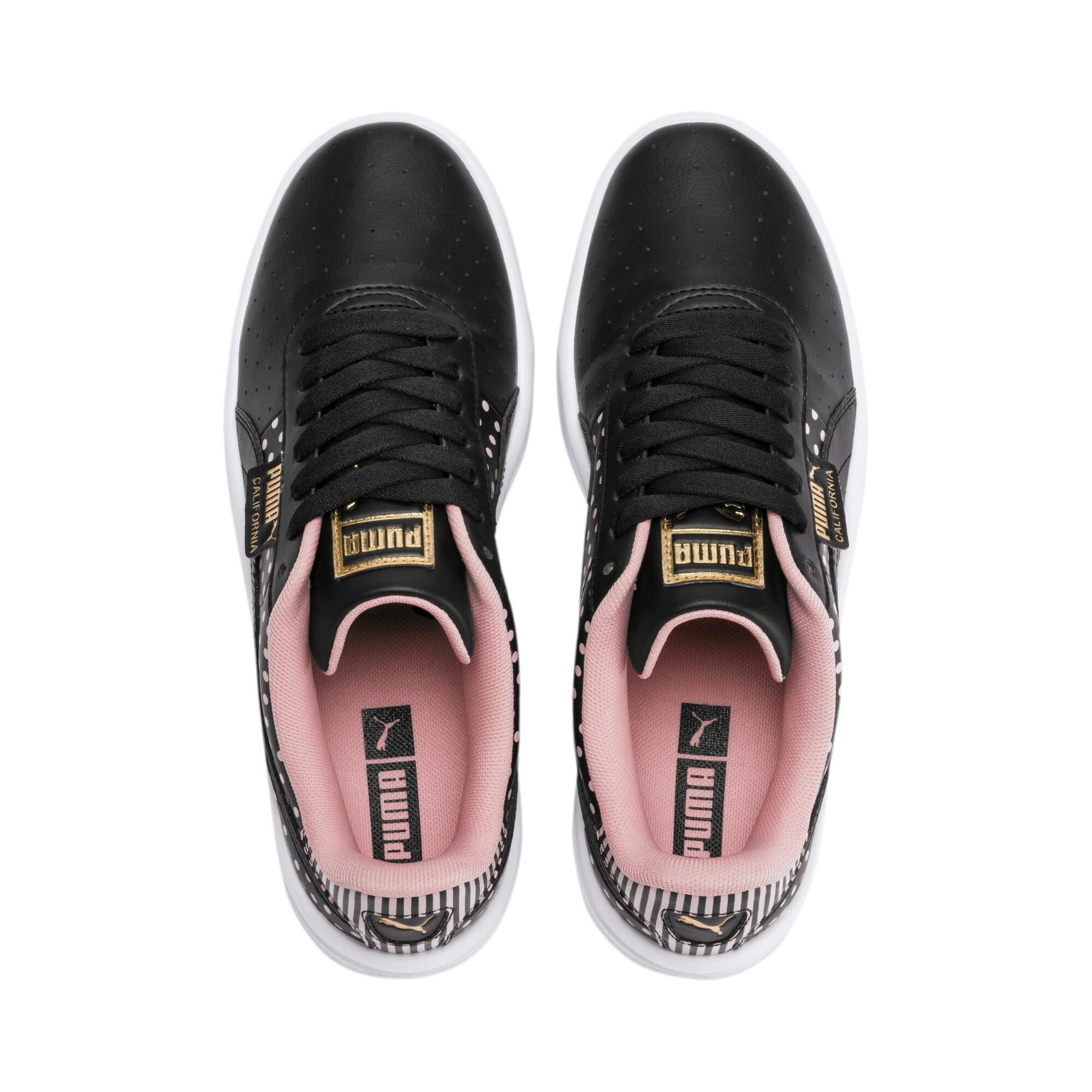 Thumbnail 7 of California Remix Women's Sneakers, Puma Black-Bridal Rose, medium