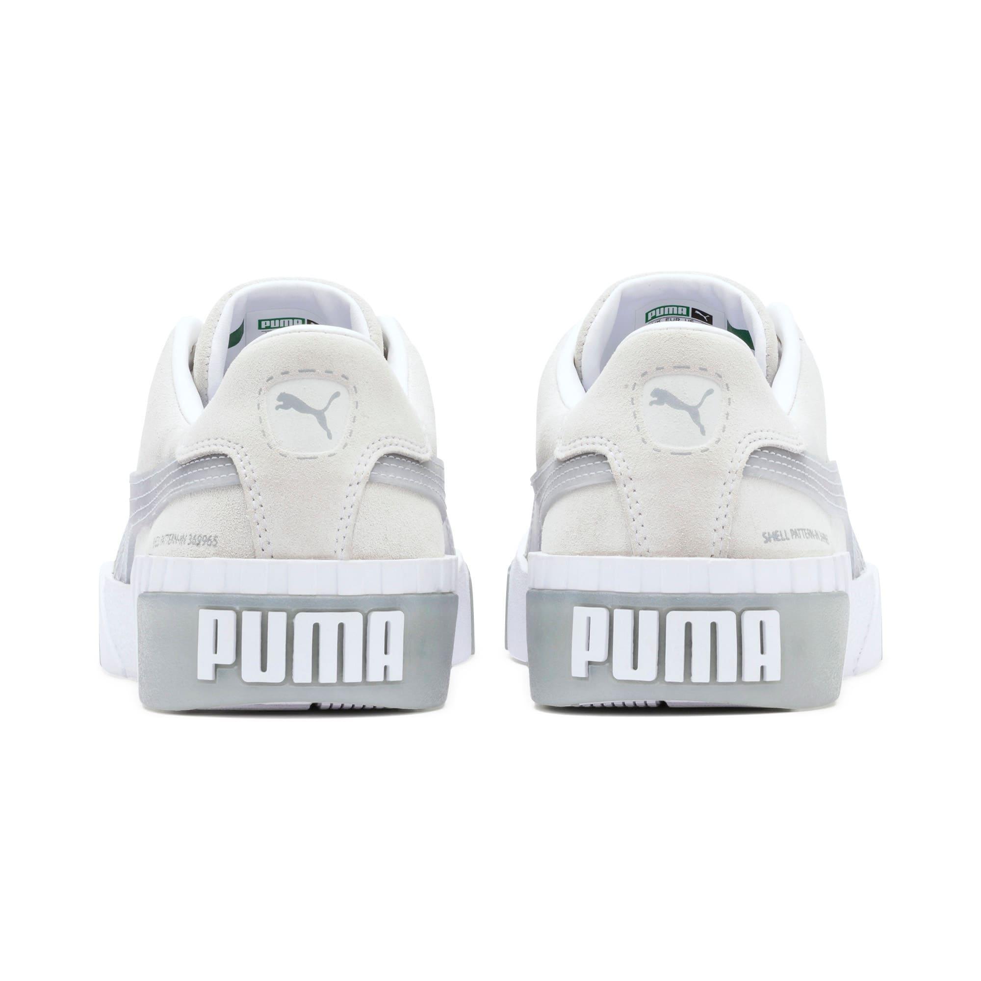 Thumbnail 4 of Cali Patternmaster sportschoenen voor dames, Puma White-Quarry, medium