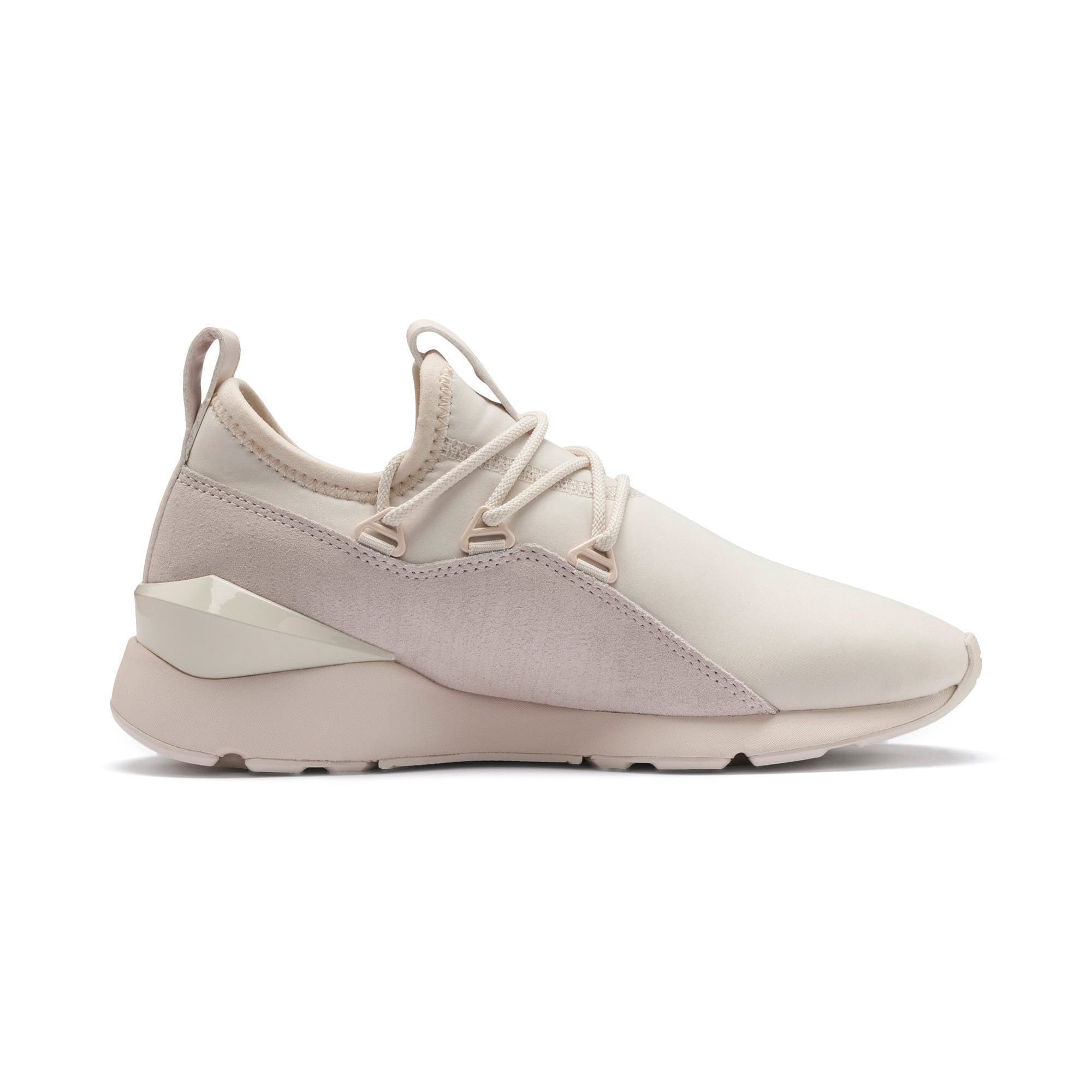 Thumbnail 7 of Muse 2 Metallic Women's Trainers, Pastel Parchment-PTeam Gold, medium-IND