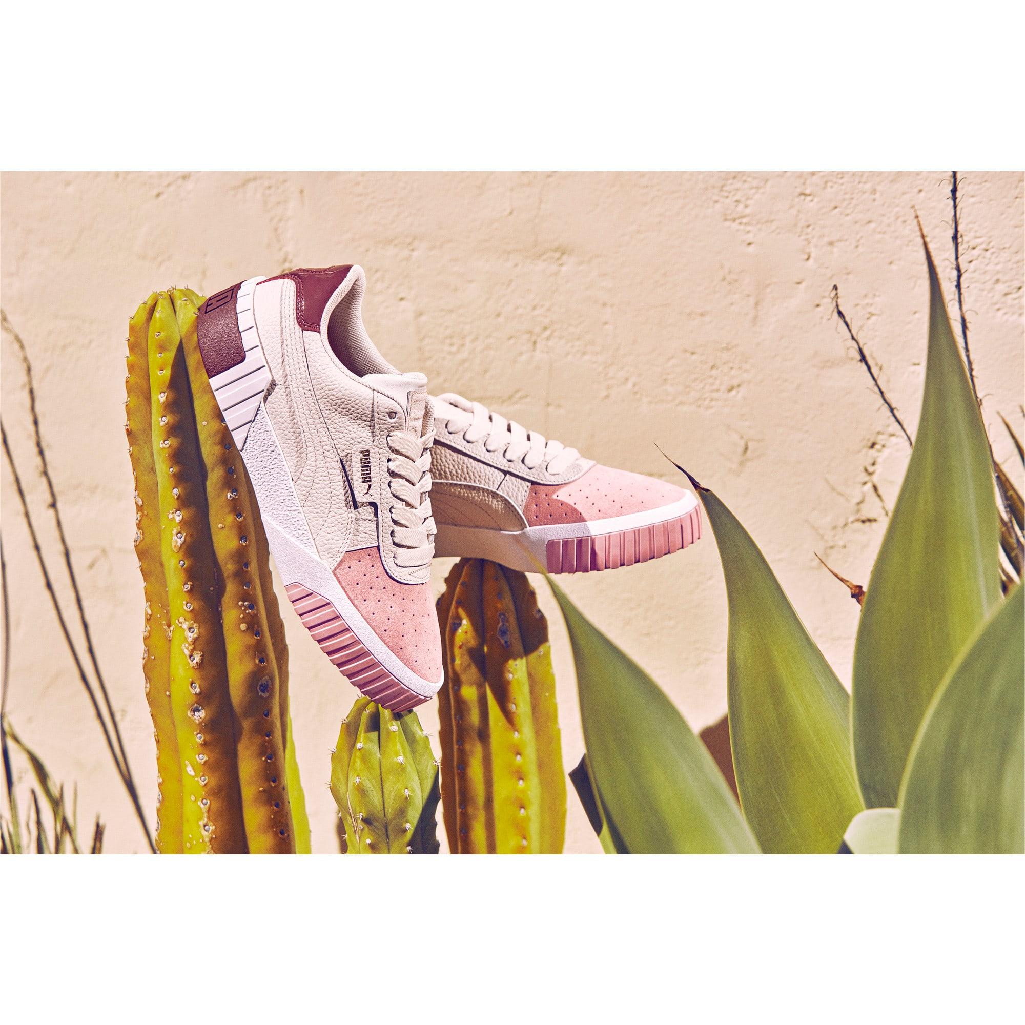 Thumbnail 10 of Cali Remix Women's Trainers, Pastel Parchment-Bridal Rose, medium-IND