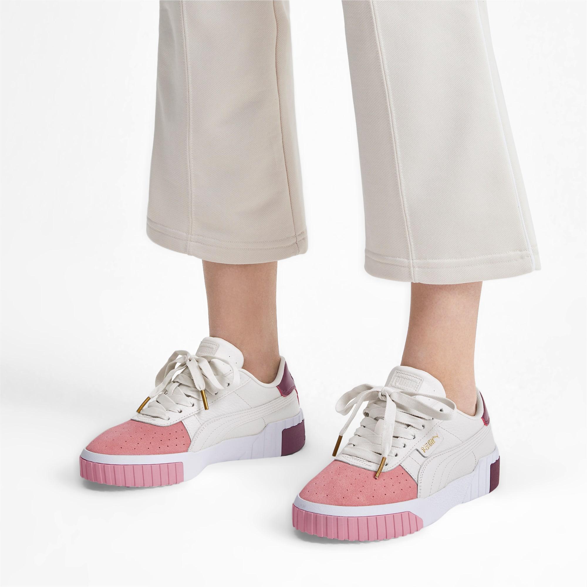 gancho Atrás, atrás, atrás parte nombre  Cali Remix Women's Trainers | Pastel Parchment-Bridal Rose | PUMA Shoes |  PUMA