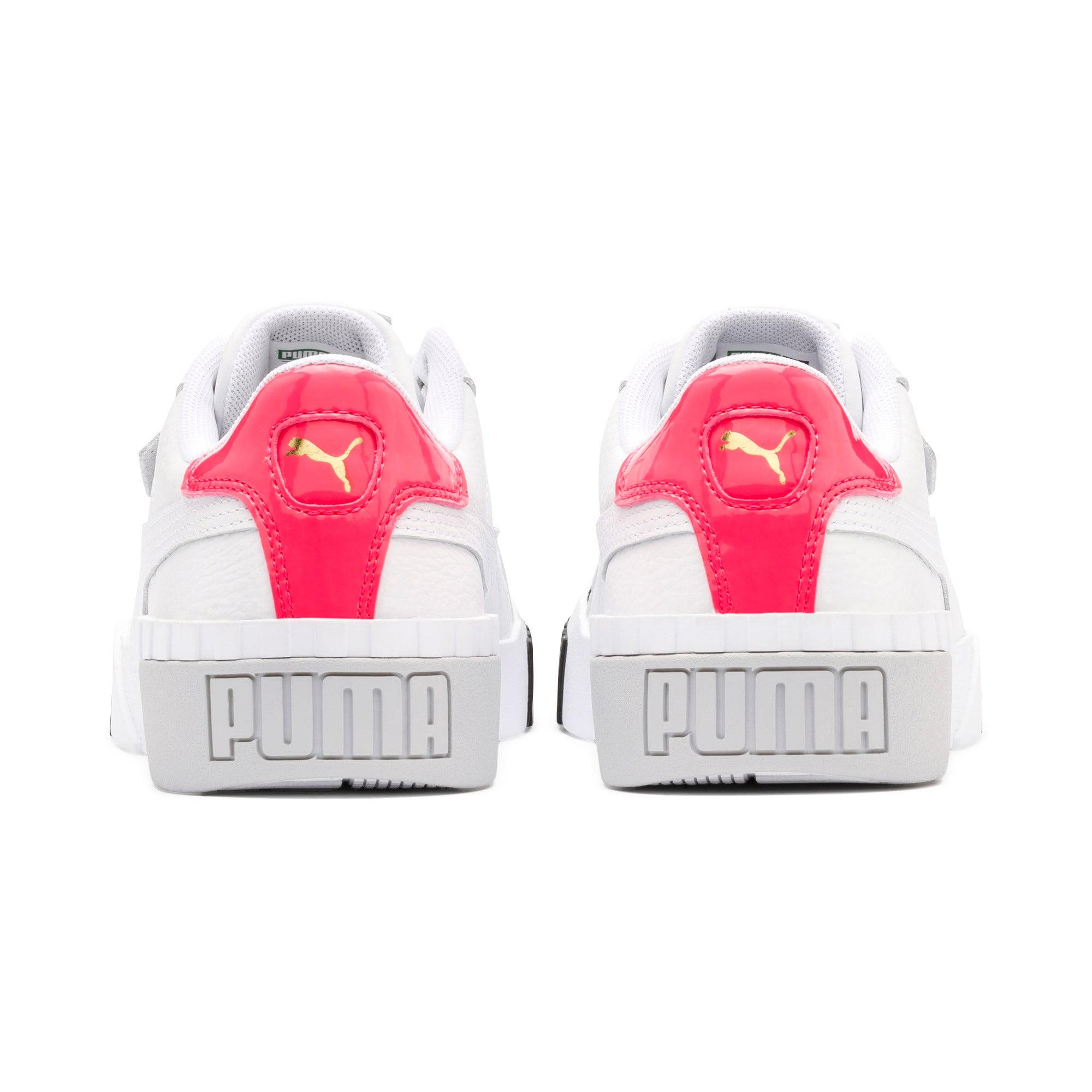 Thumbnail 4 of Damskie buty sportowe Cali Remix, Puma White-Puma Black, medium