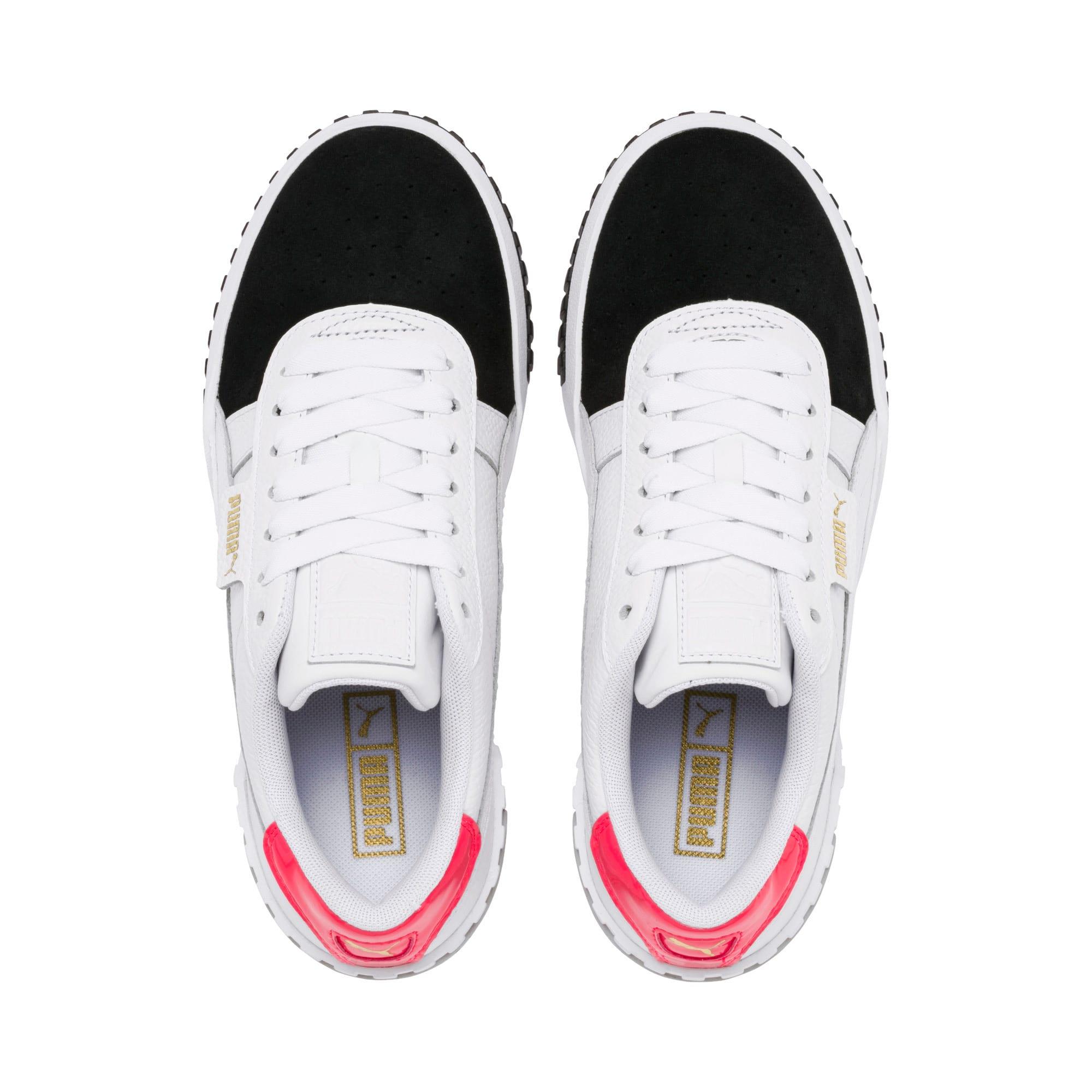 Thumbnail 7 of Damskie buty sportowe Cali Remix, Puma White-Puma Black, medium