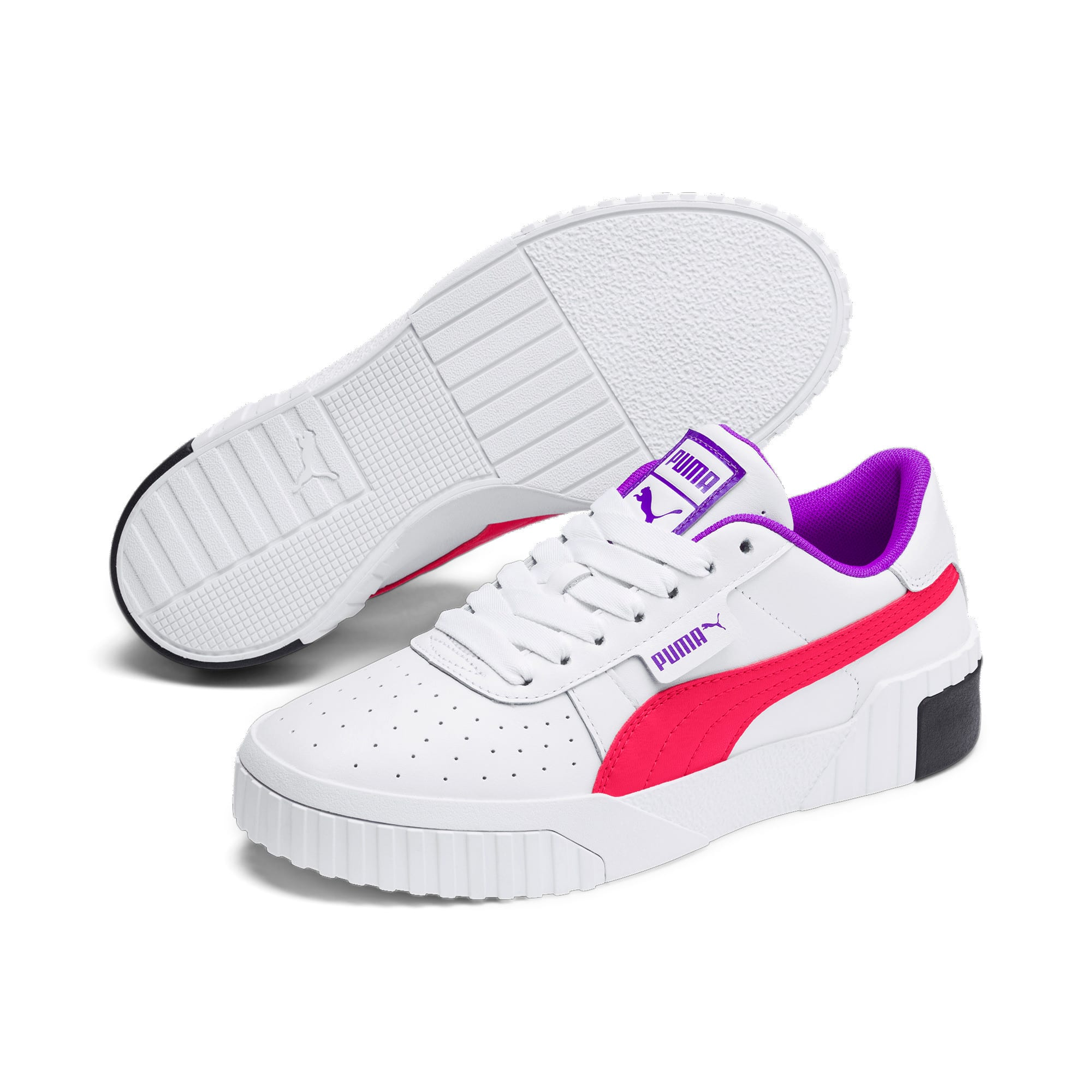 Thumbnail 2 of Cali Chase Women's Training Shoes, Puma White-Nrgy Rose, medium