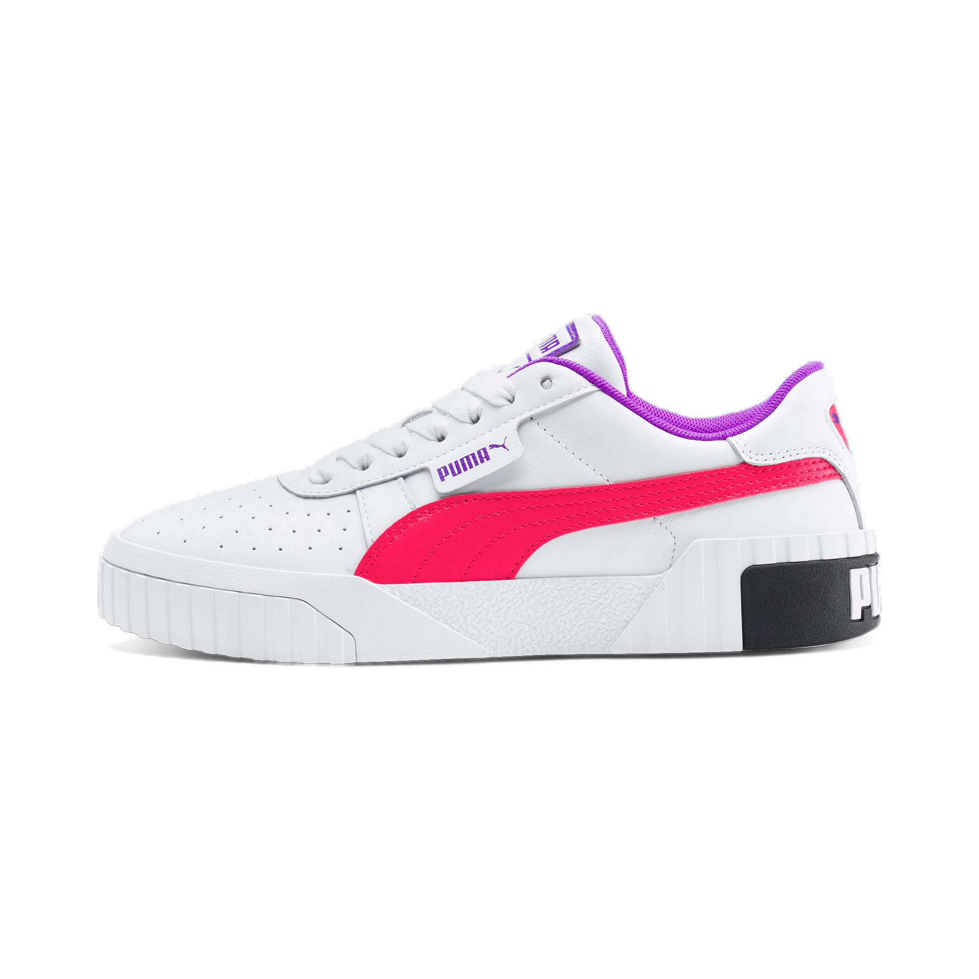 Thumbnail 1 of Cali Chase Women's Training Shoes, Puma White-Nrgy Rose, medium