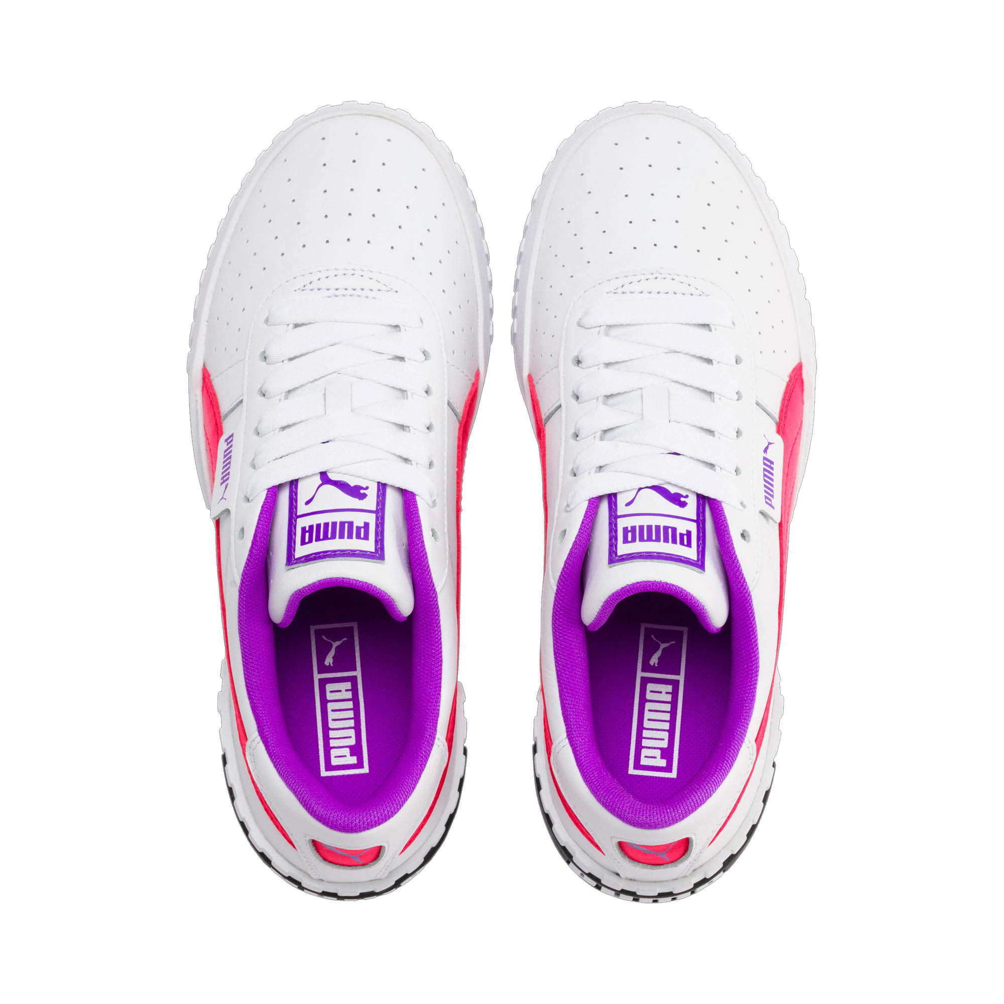 Thumbnail 7 of Cali Chase Women's Training Shoes, Puma White-Nrgy Rose, medium