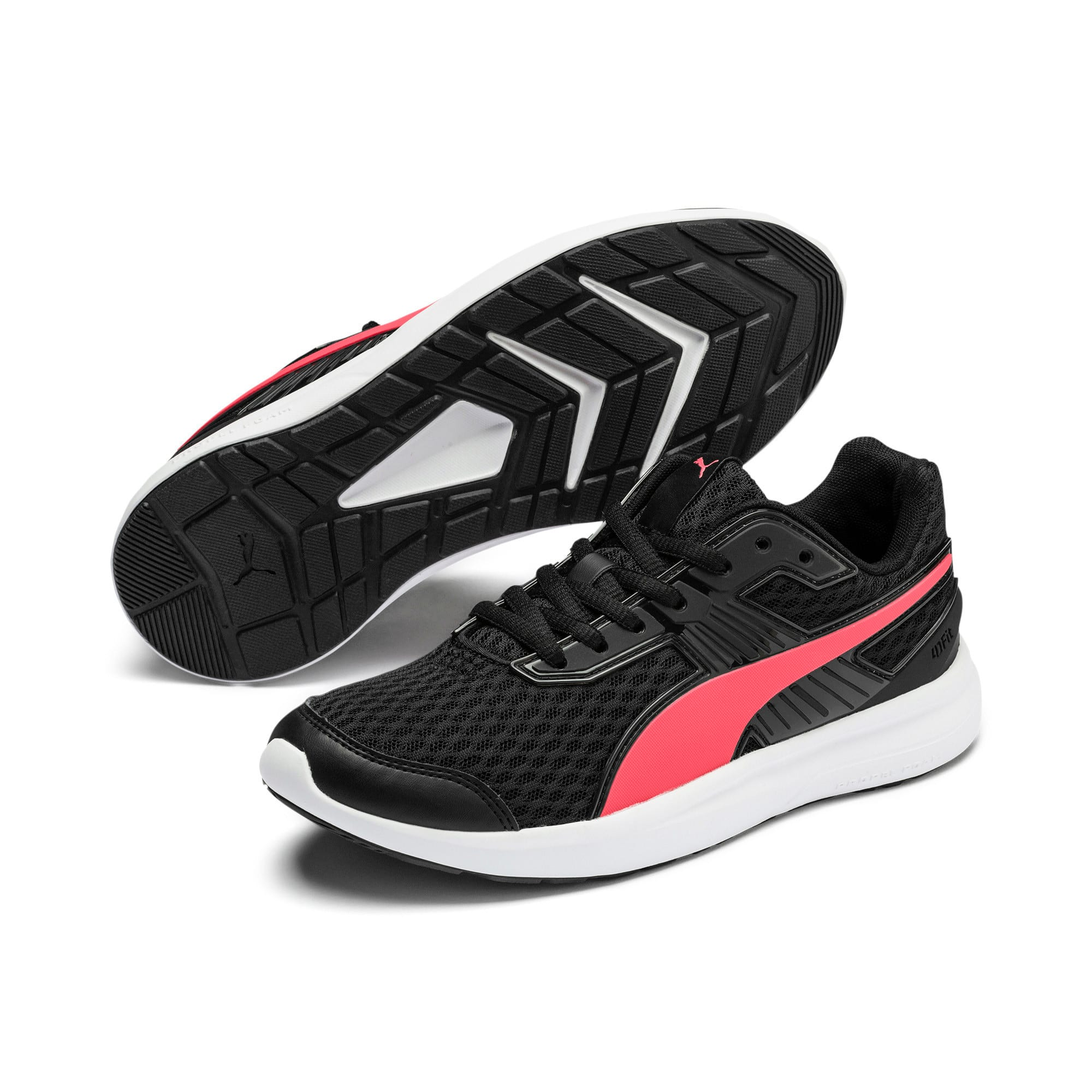 Thumbnail 8 of Escaper Pro Training Shoes, Black-Calypso Coral-White, medium-IND