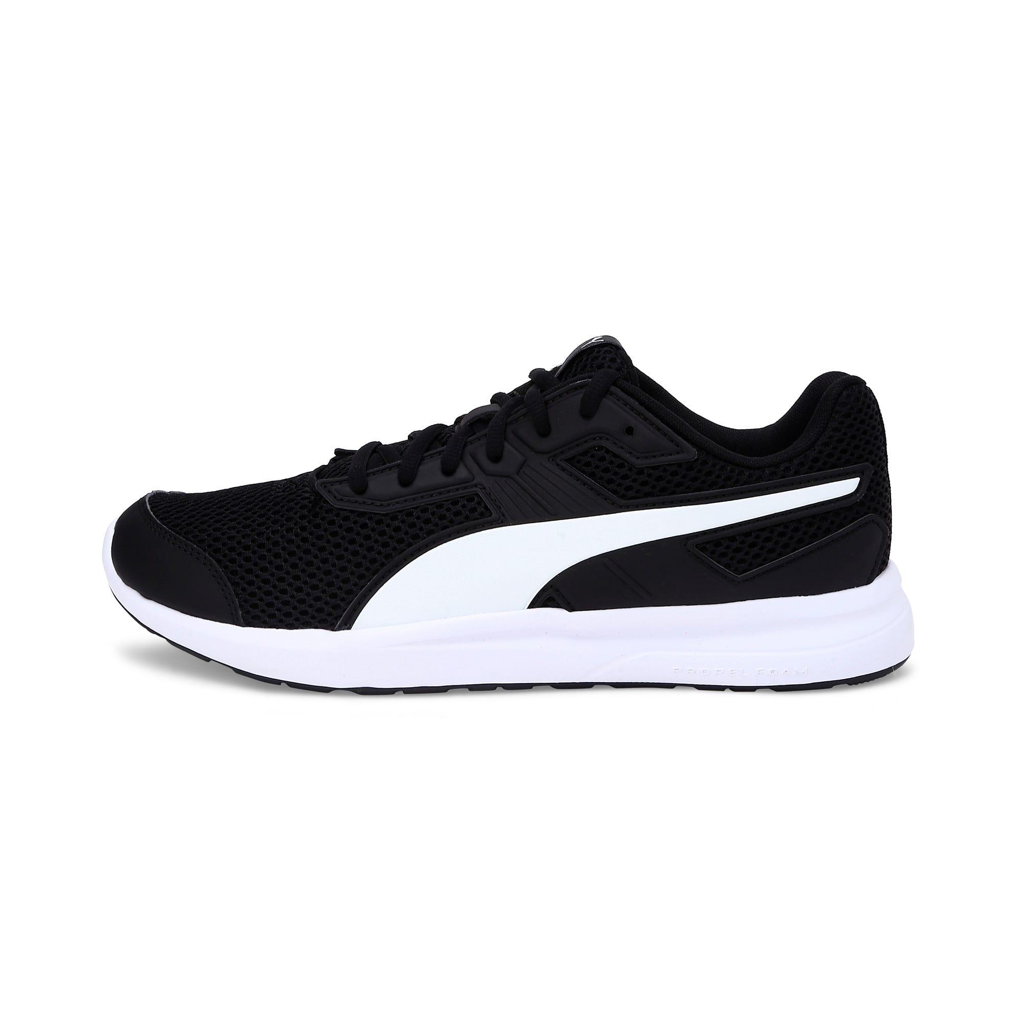 Thumbnail 1 of Escaper Training Shoes, Puma Black-Puma White, medium-IND