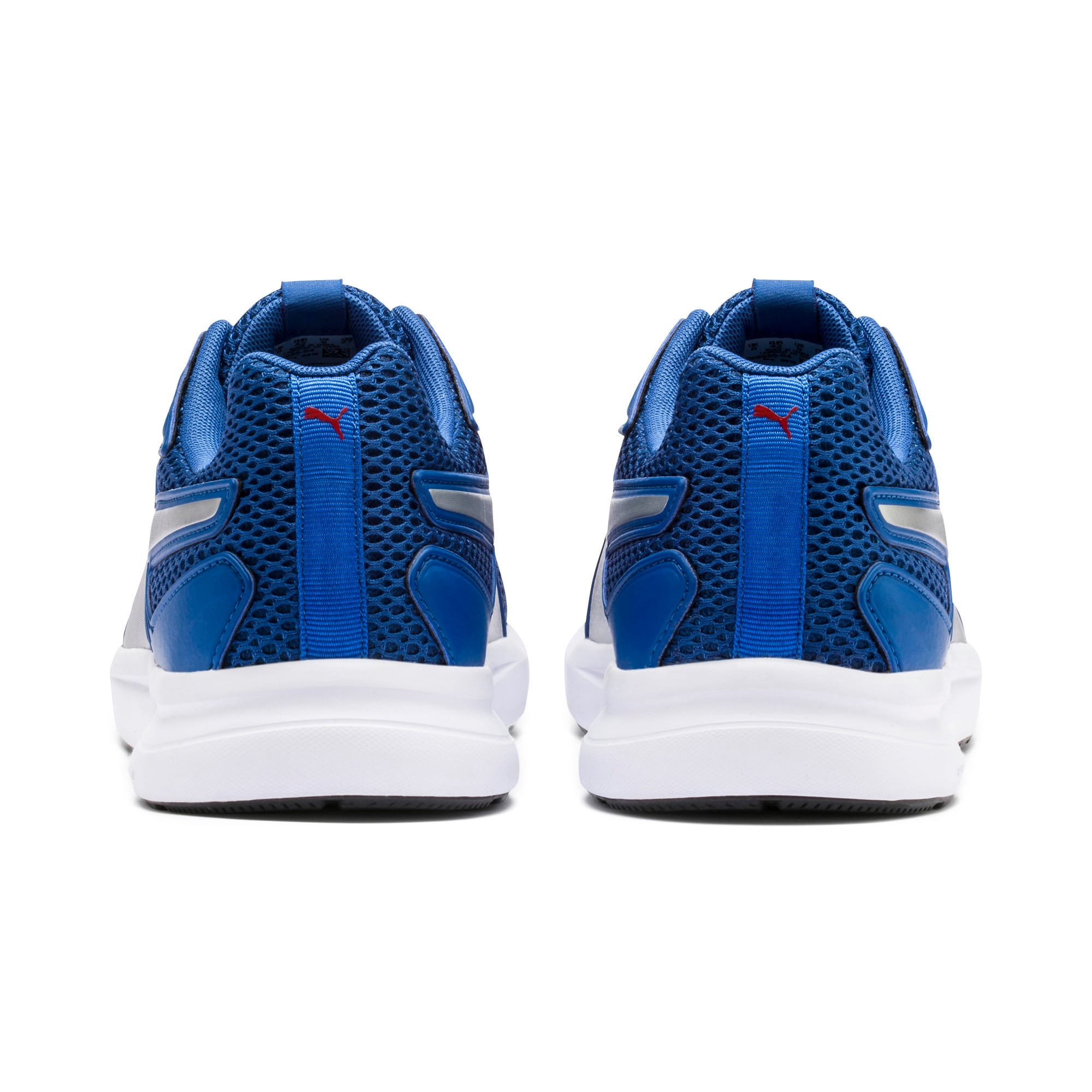 Thumbnail 3 of Escaper Training Shoes, Galaxy Blue-Silver-Red-White, medium-IND
