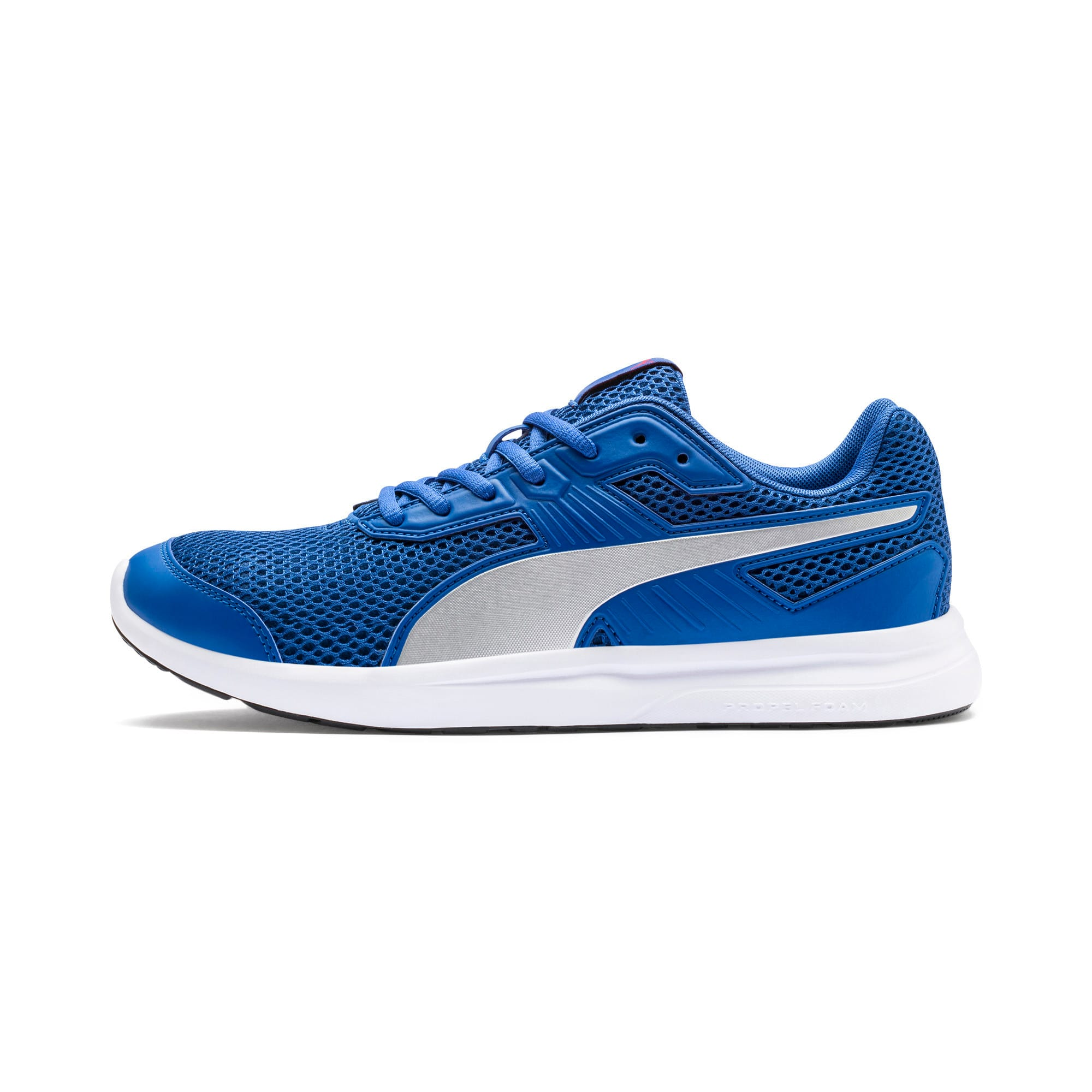 Thumbnail 1 of Escaper Training Shoes, Galaxy Blue-Silver-Red-White, medium-IND