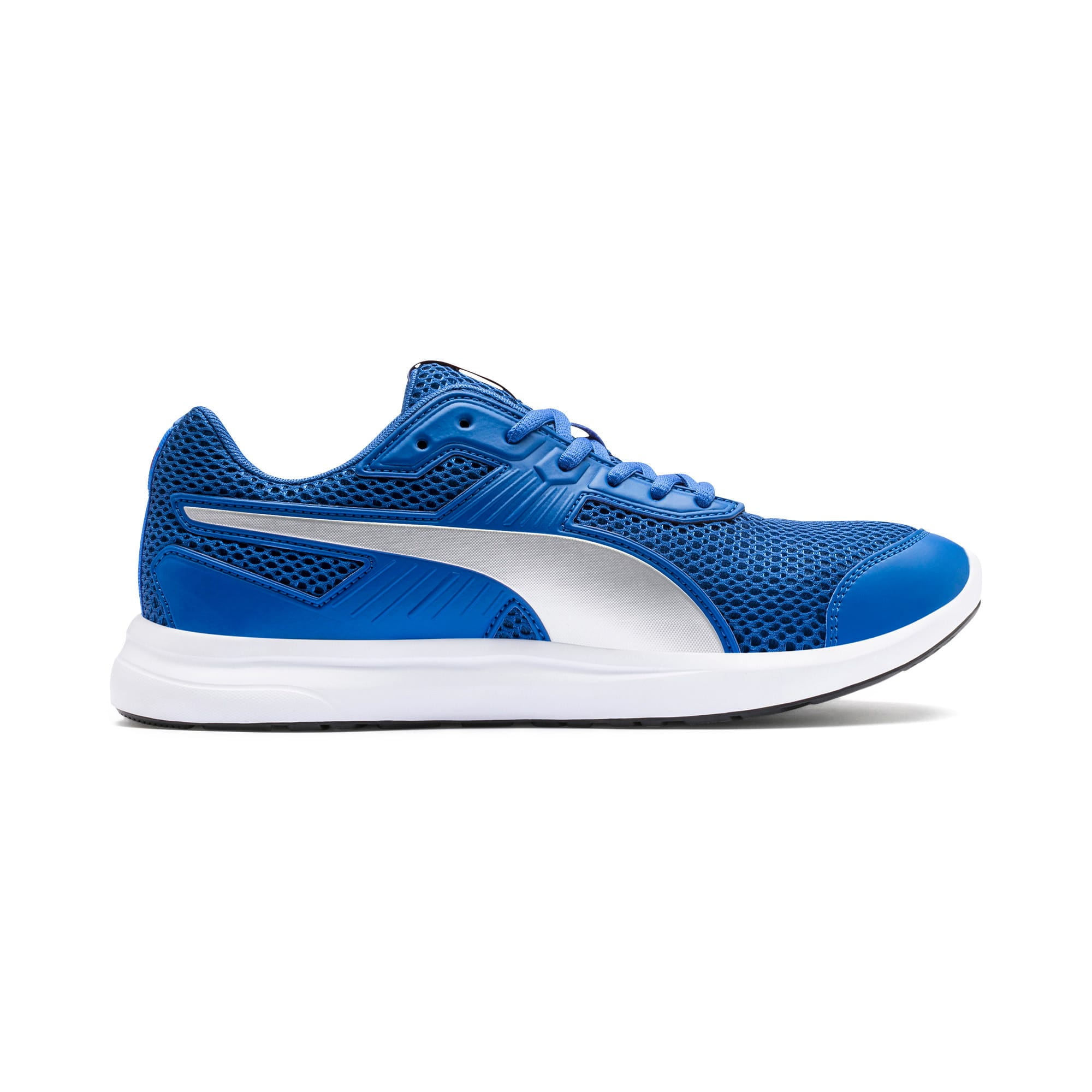 Thumbnail 5 of Escaper Training Shoes, Galaxy Blue-Silver-Red-White, medium-IND