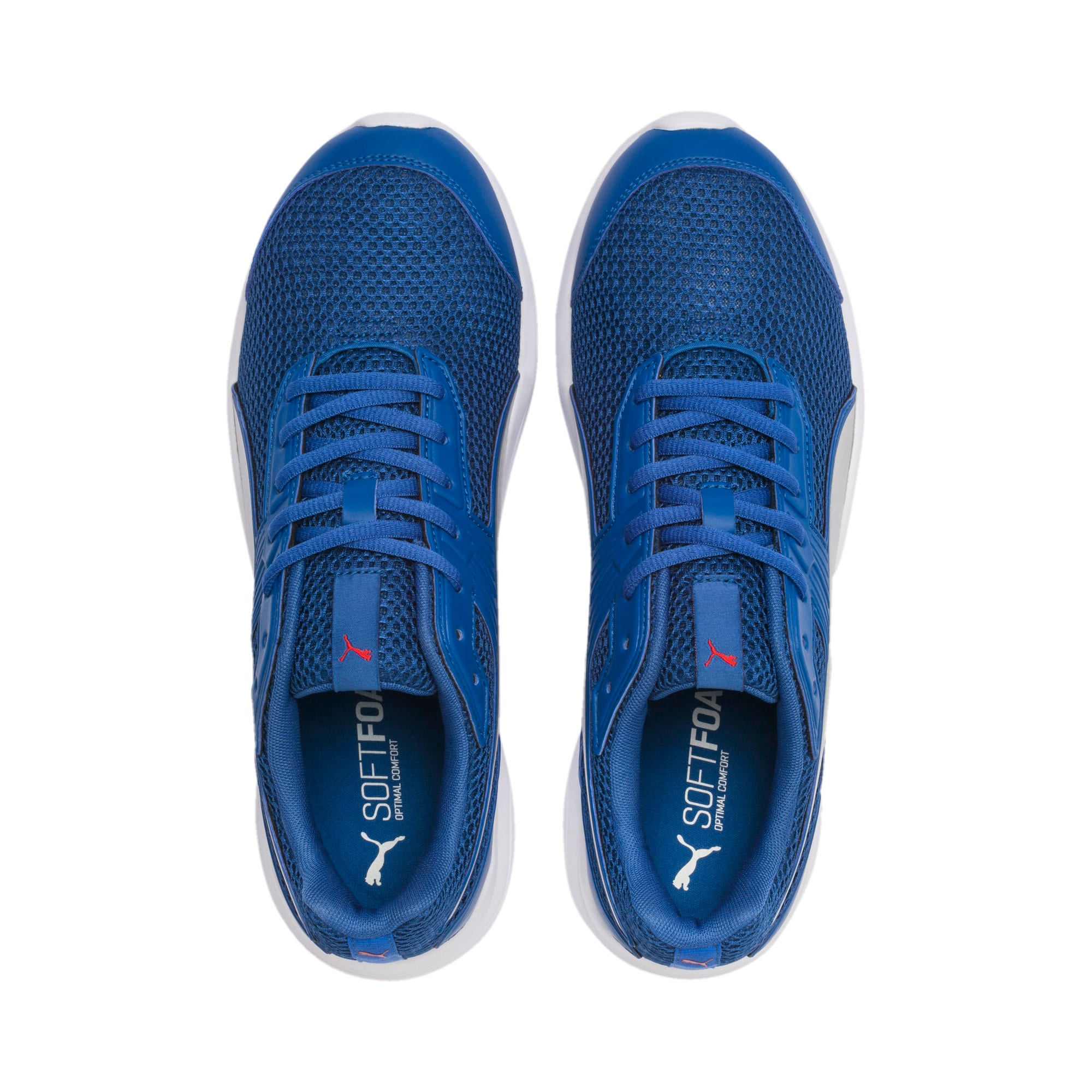 Thumbnail 6 of Escaper Training Shoes, Galaxy Blue-Silver-Red-White, medium-IND