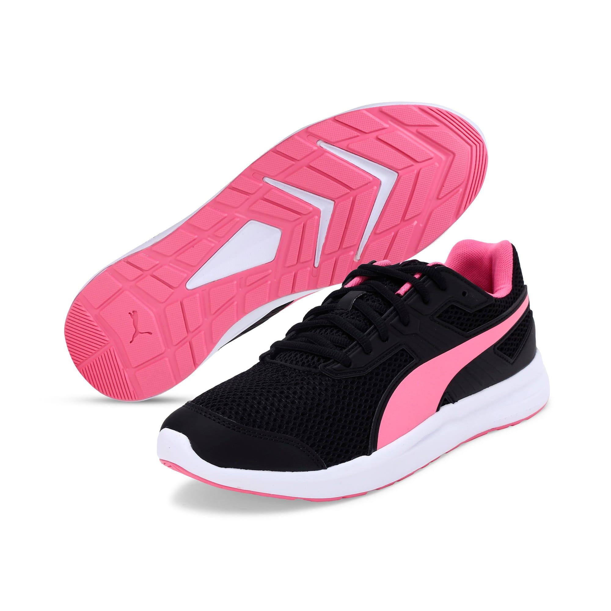 Thumbnail 4 of Escaper Training Shoes, Puma Black-Azalea Pink-White, medium-IND