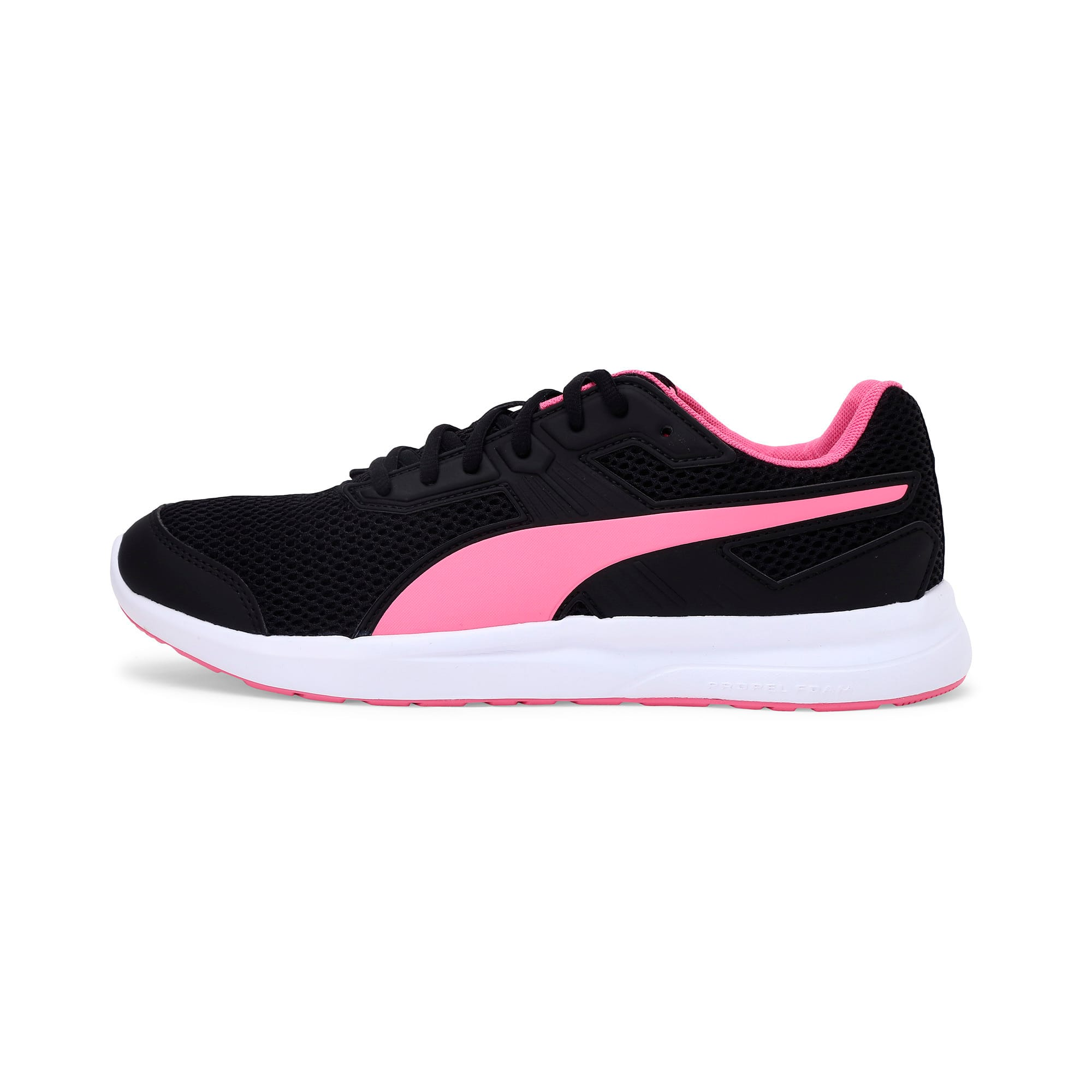 Thumbnail 1 of Escaper Training Shoes, Puma Black-Azalea Pink-White, medium-IND