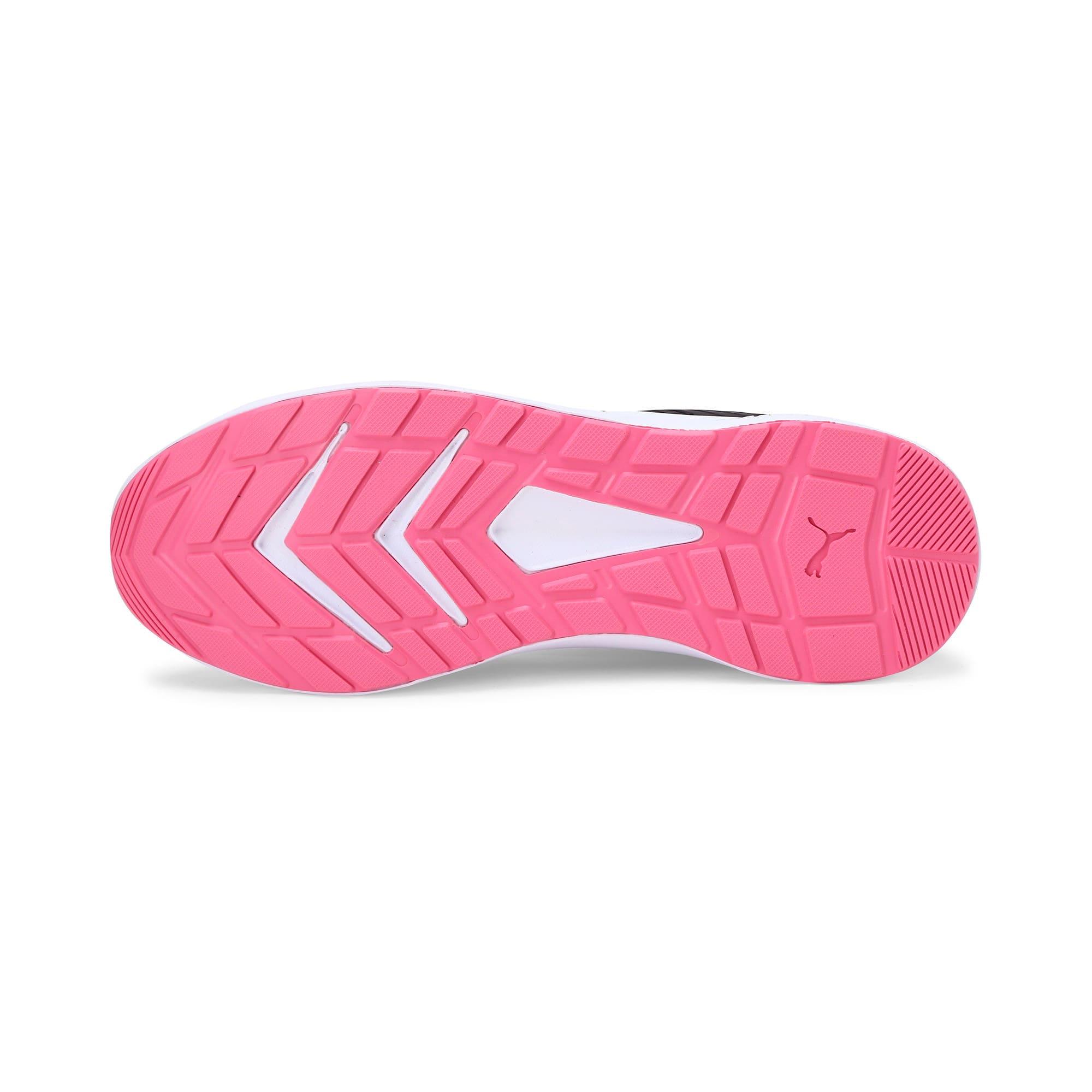 Thumbnail 6 of Escaper Training Shoes, Puma Black-Azalea Pink-White, medium-IND
