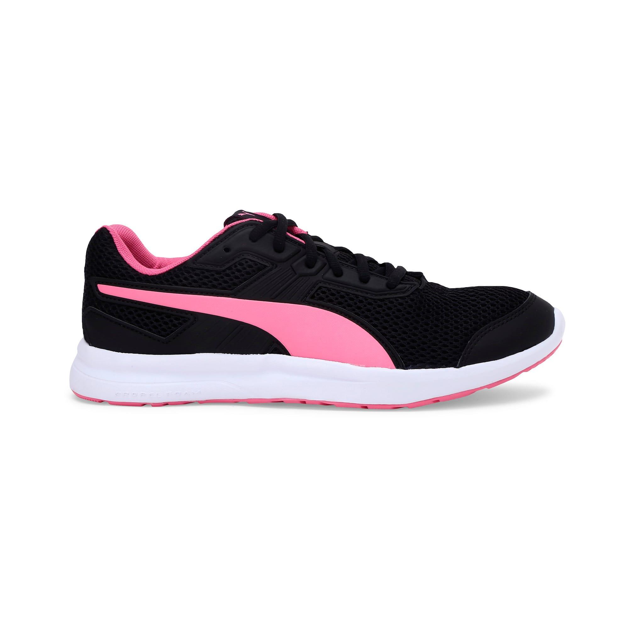 Thumbnail 7 of Escaper Training Shoes, Puma Black-Azalea Pink-White, medium-IND